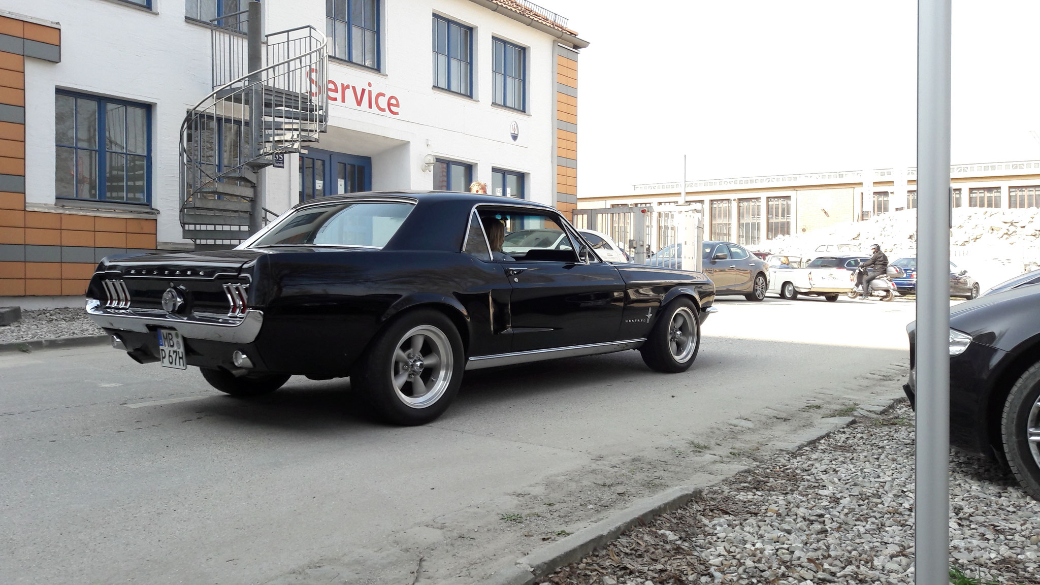 Mustang I - M-BP-67H