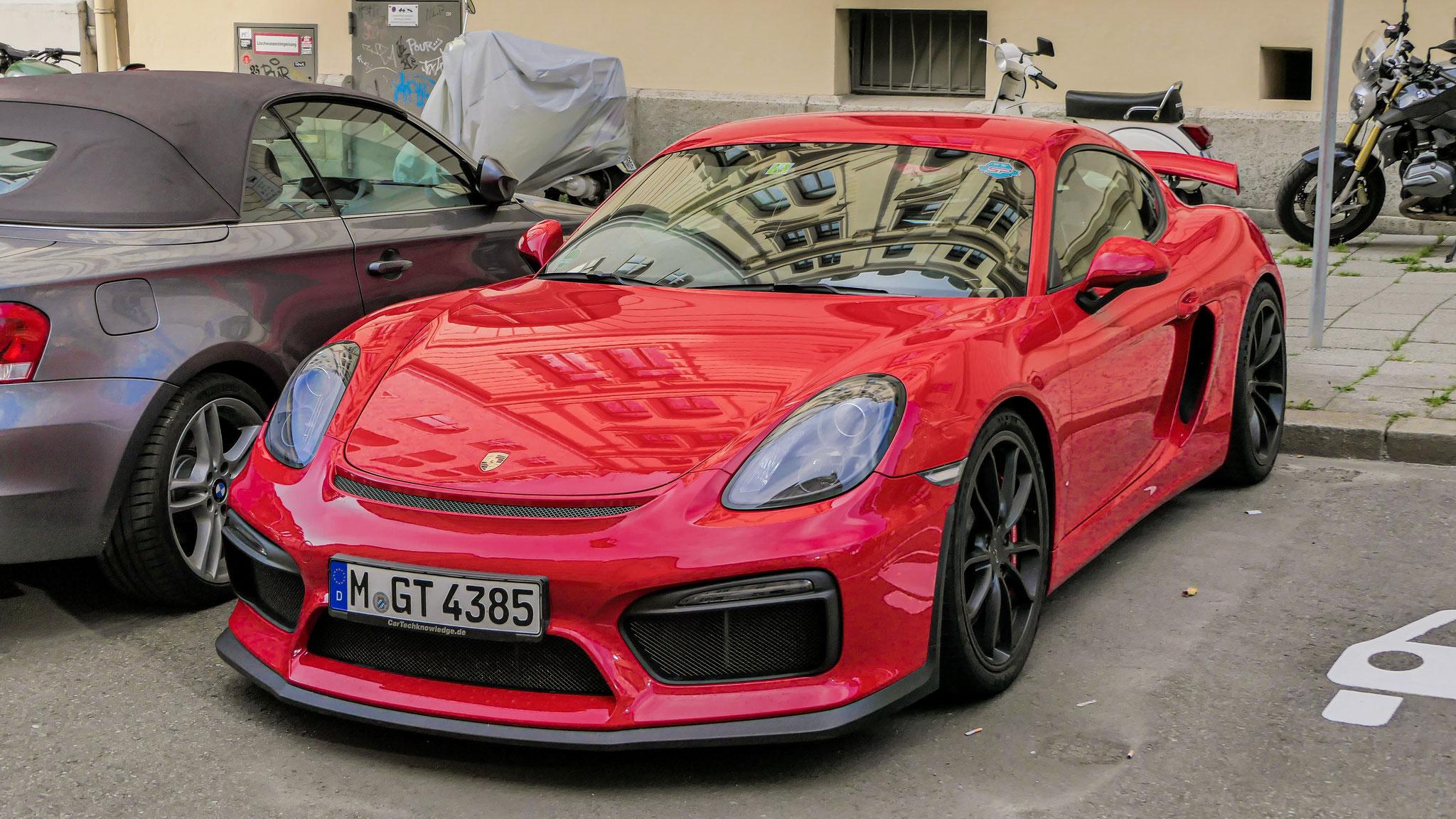 Porsche Cayman GT4 - M-GT-4385