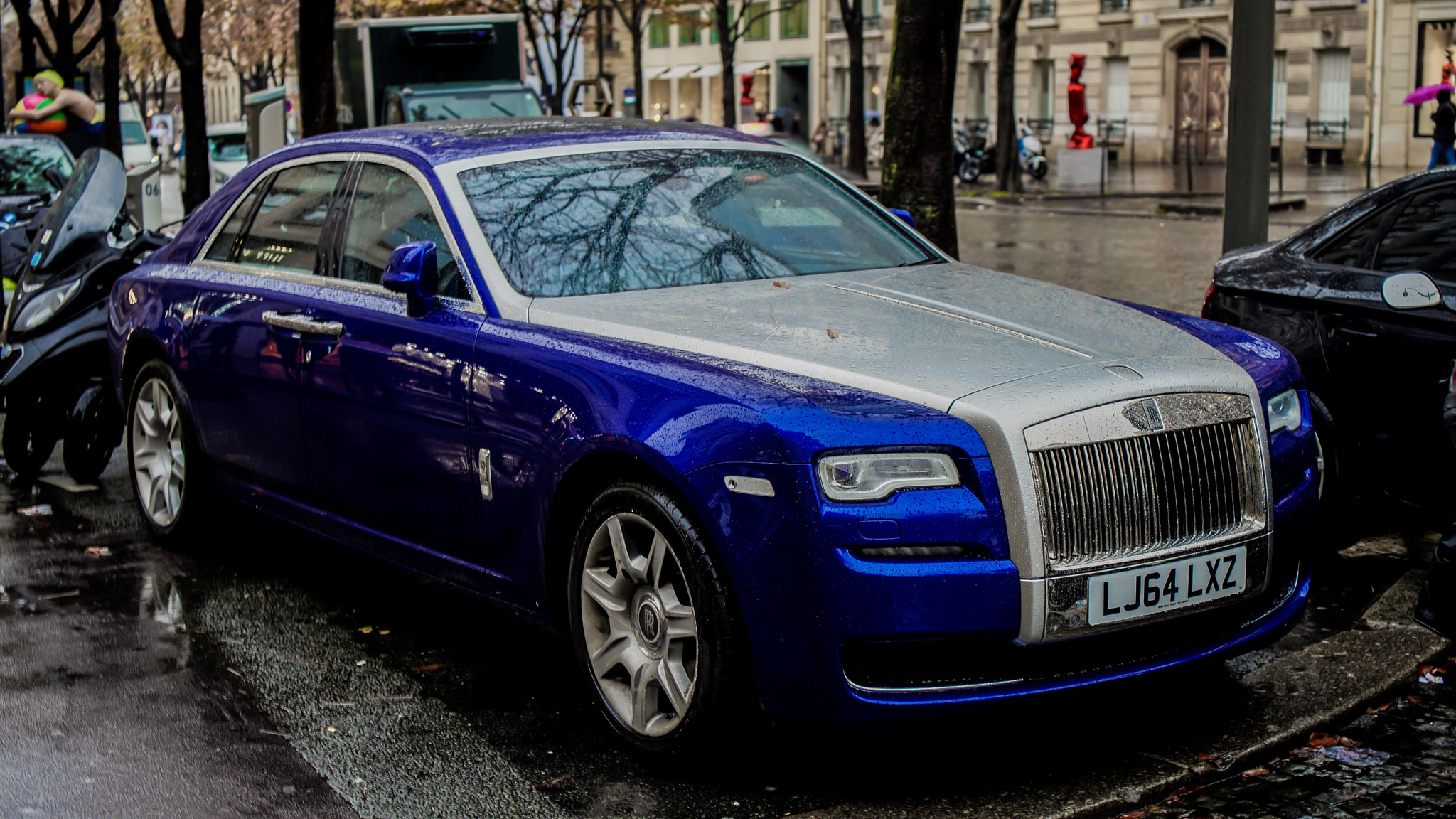 Rolls Royce Ghost Series II - LJ64-LXZ (GB)