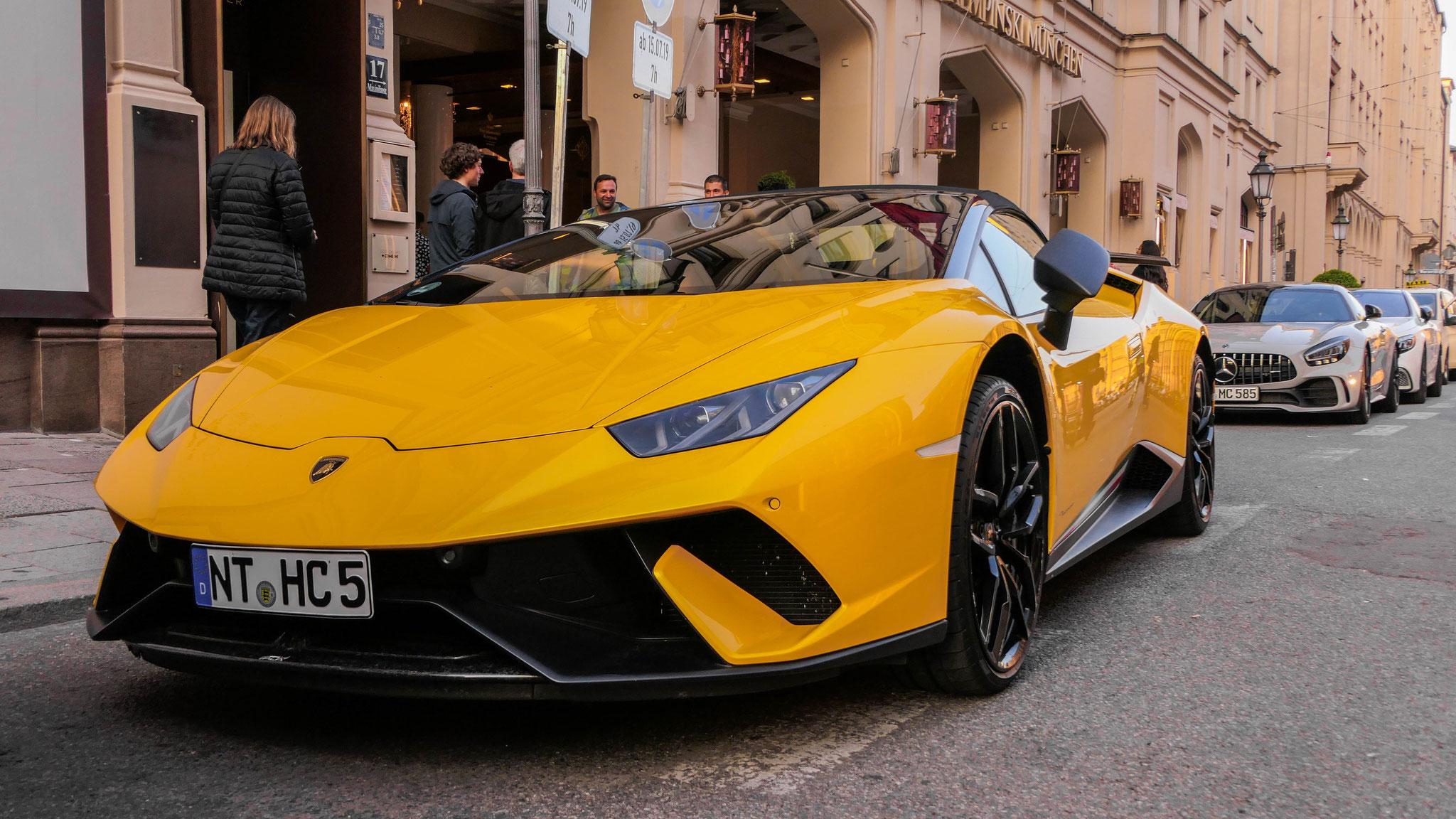 Lamborghini Huracan Performante Spyder - NT-HC-5