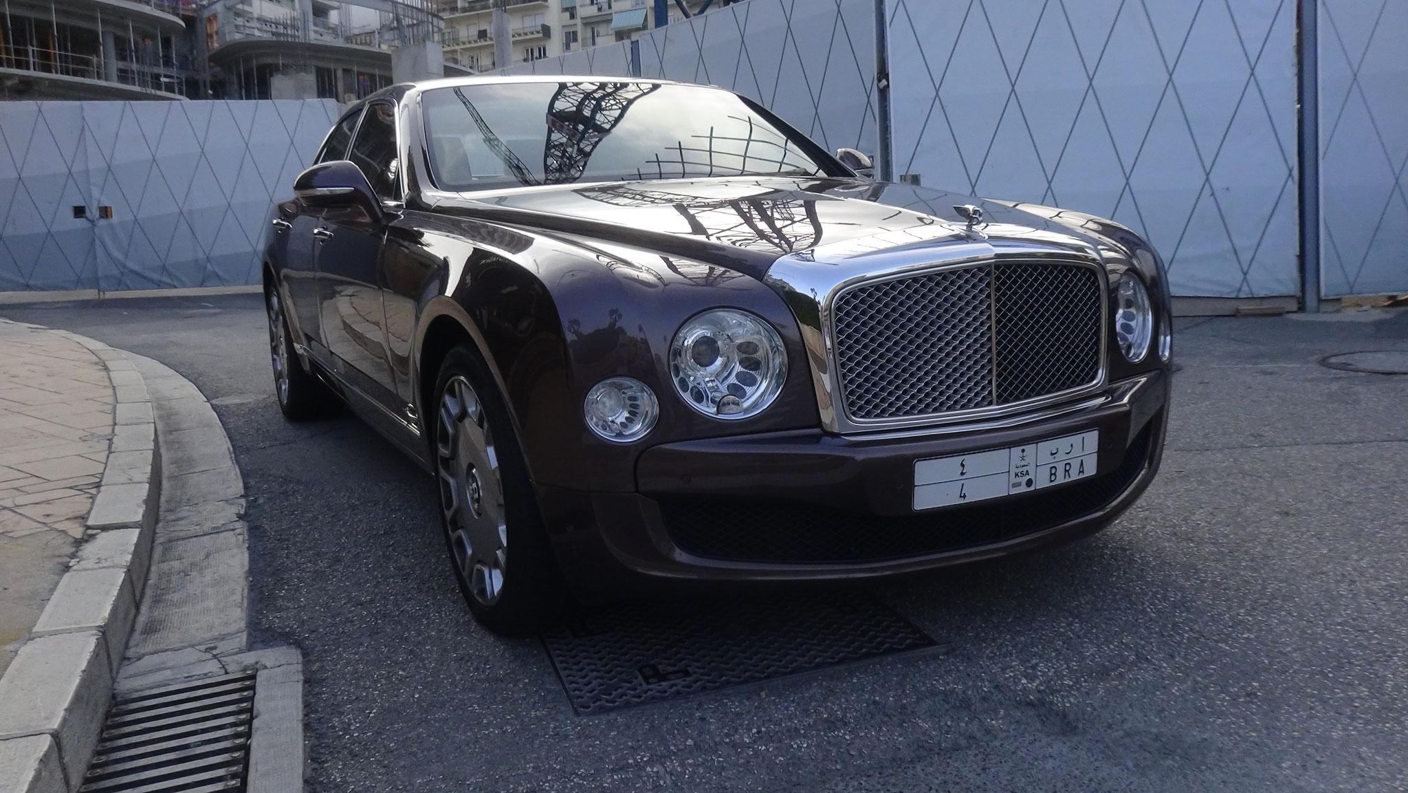 Bentley Mulsanne - 4-BRA (KSA)