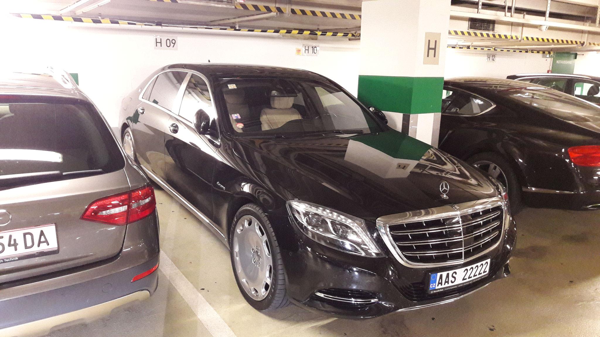 Mercedes Maybach AAS-22222 (CZ)