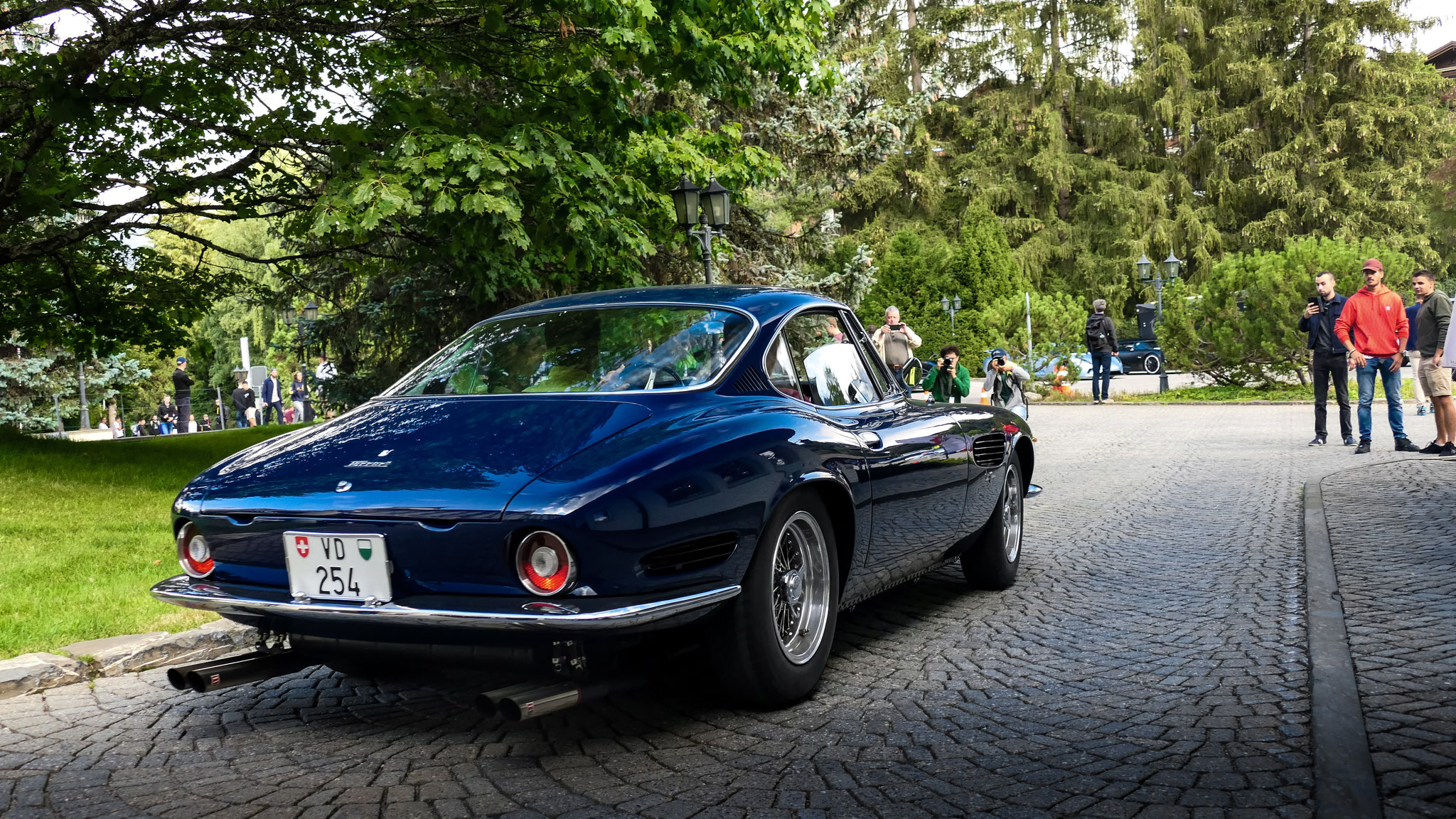 Ferrari 250 GT SWB Berlinetta Speciale - VD-254 (CH)