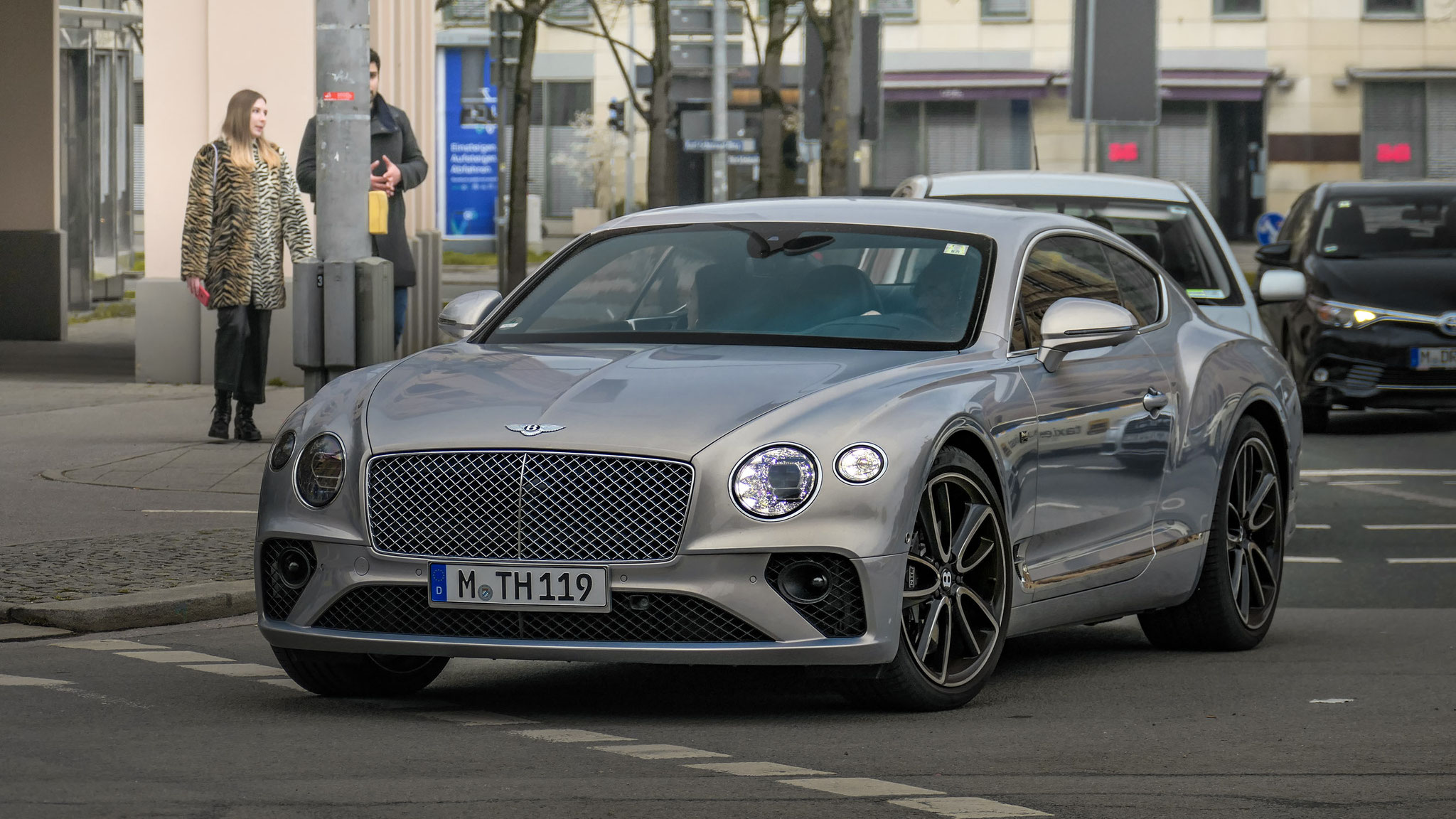 Bentley Continental GT - M-TH-119
