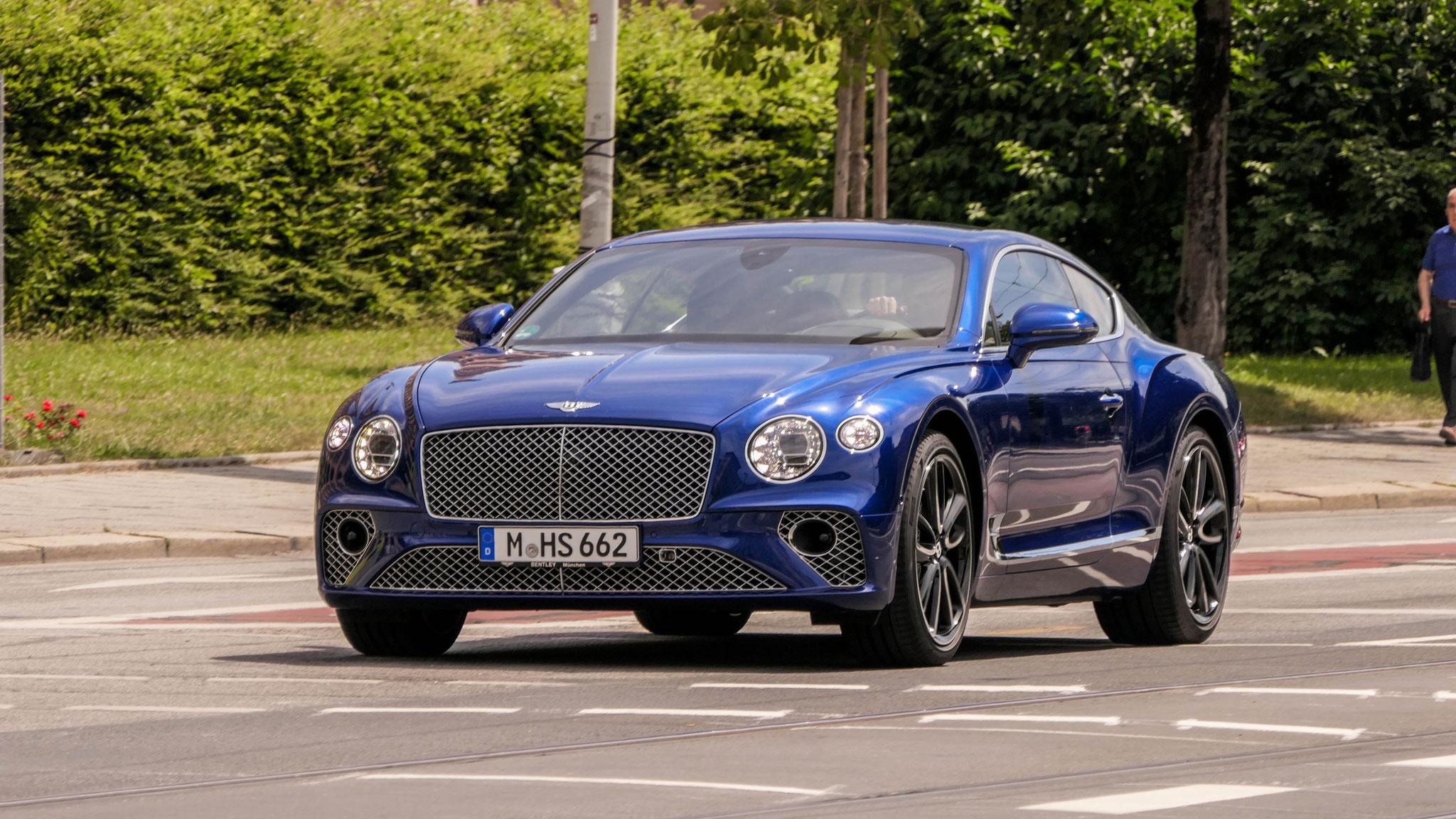 Bentley Continental GT - M-HS-662