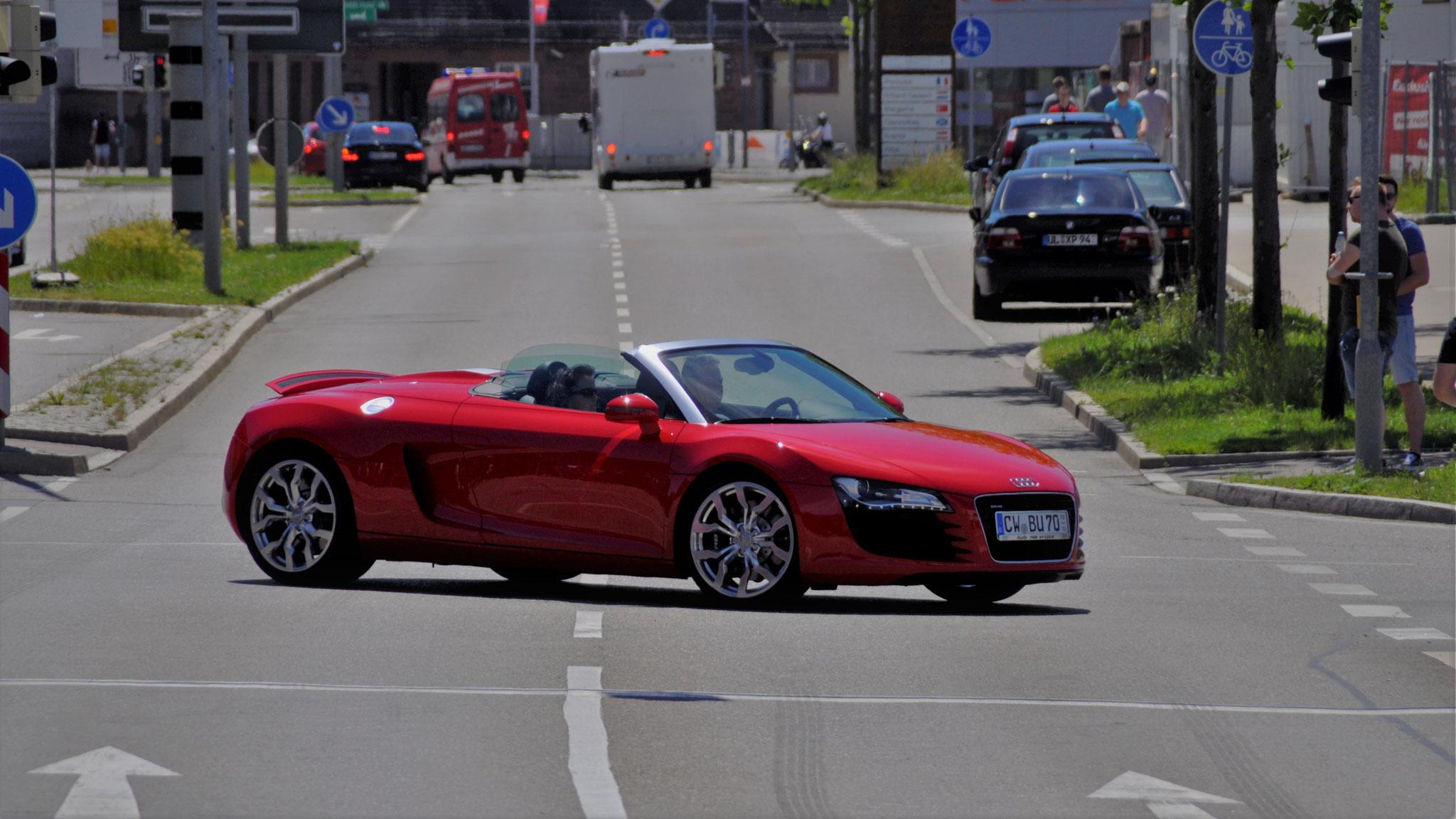 Audi R8 Spyder - CW-BU-70