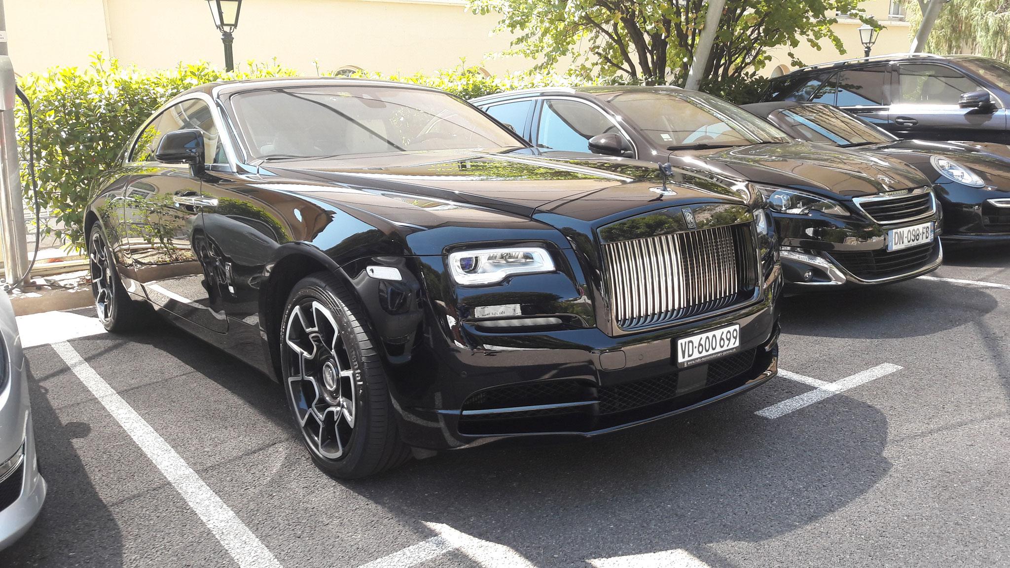 Rolls Royce Wraith Black Badge - VD-600699 (CH)