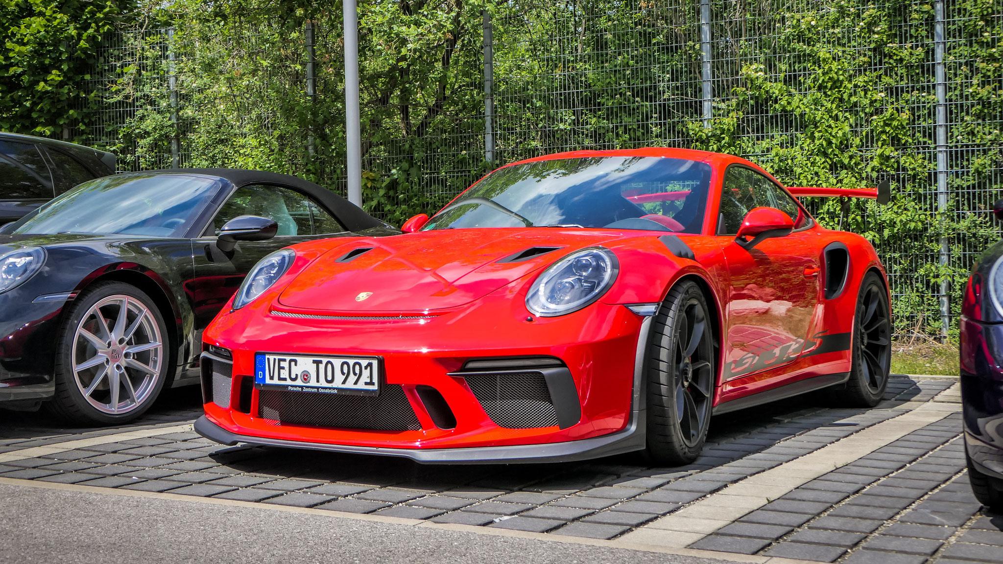 Porsche 911 991.2 GT3 RS - VEC-TO-991
