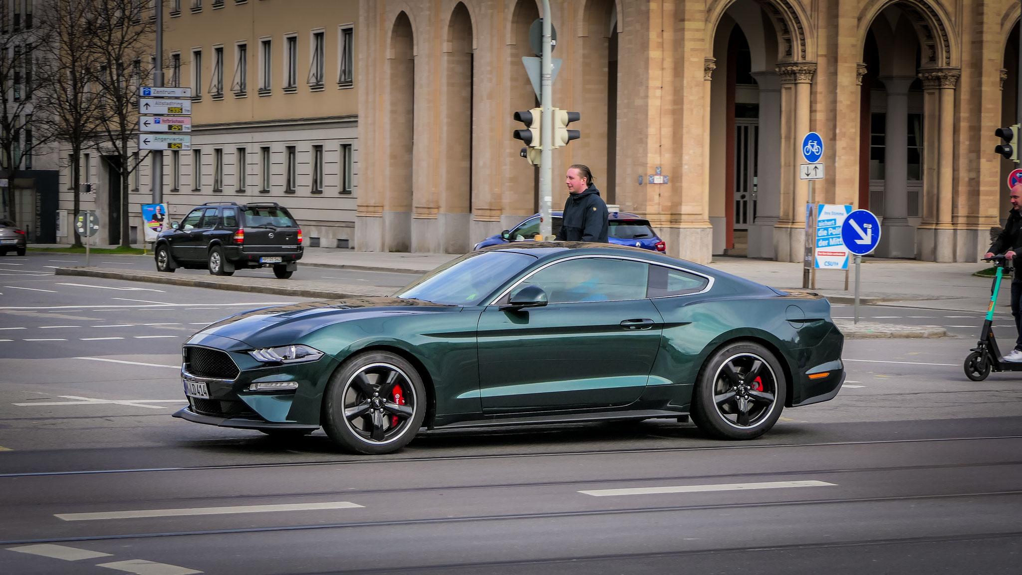 Ford Mustang Bullitt - M-LD-414
