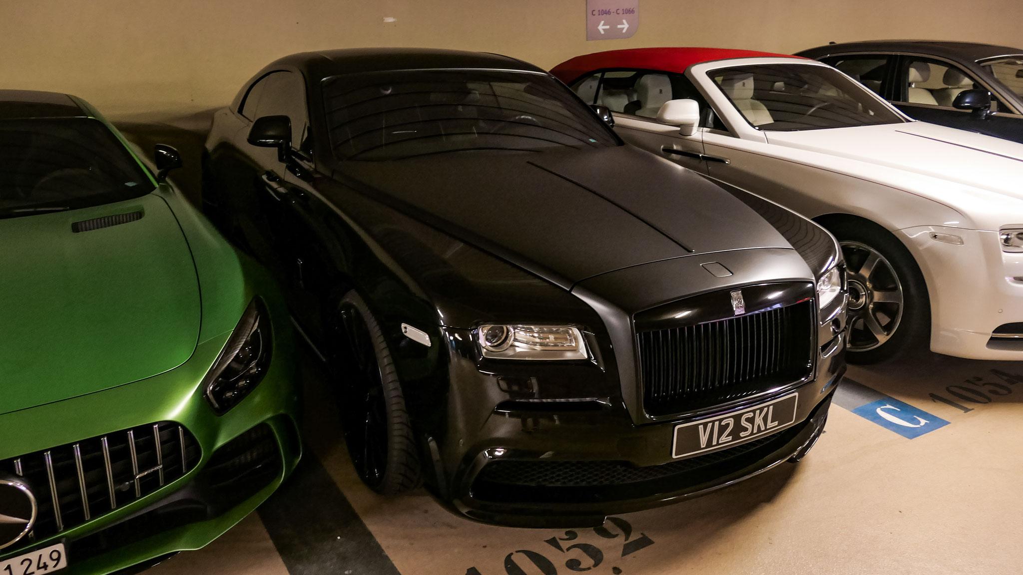 Rolls Royce Wraith - V12-SKL (GB)