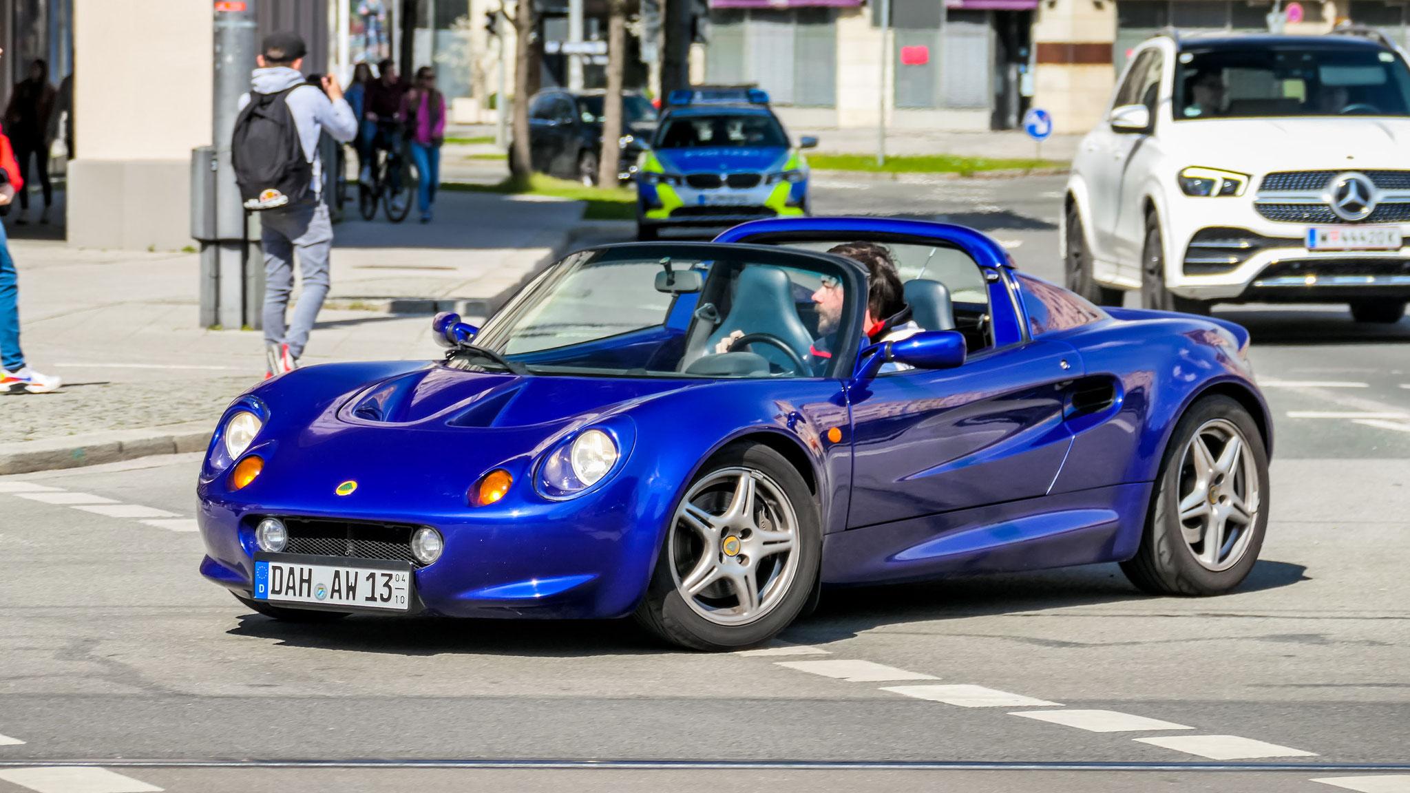 Lotus Elise S1 - DAH-AW-13