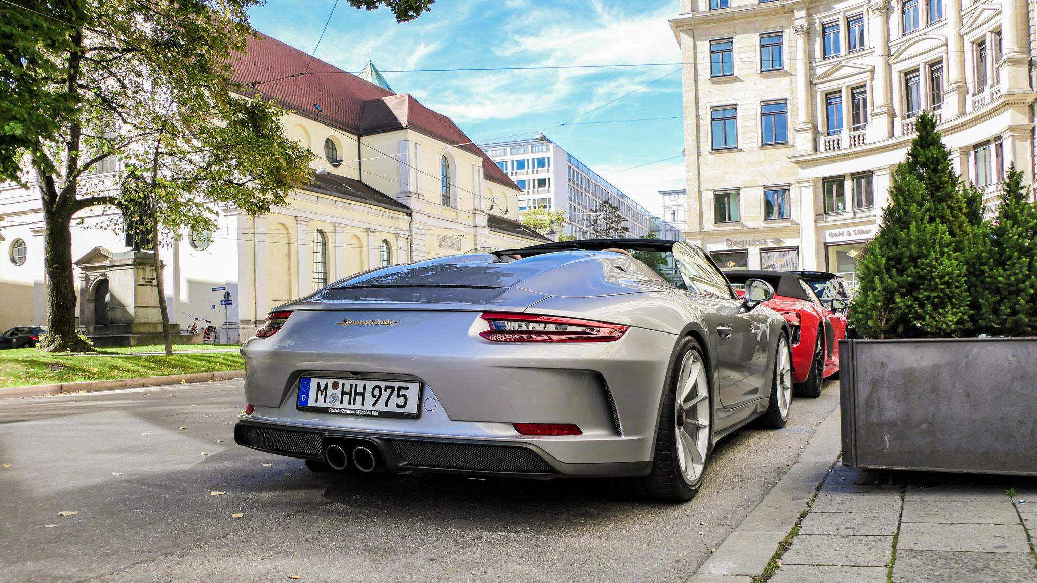 Porsche 991 Speedster - M-HH-975