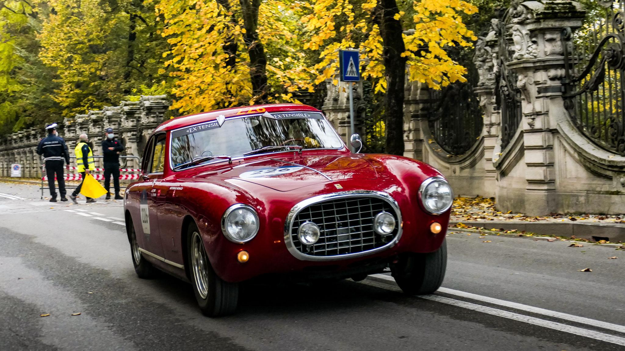 Ferrari 212 Inter Europa - 857X (MC)