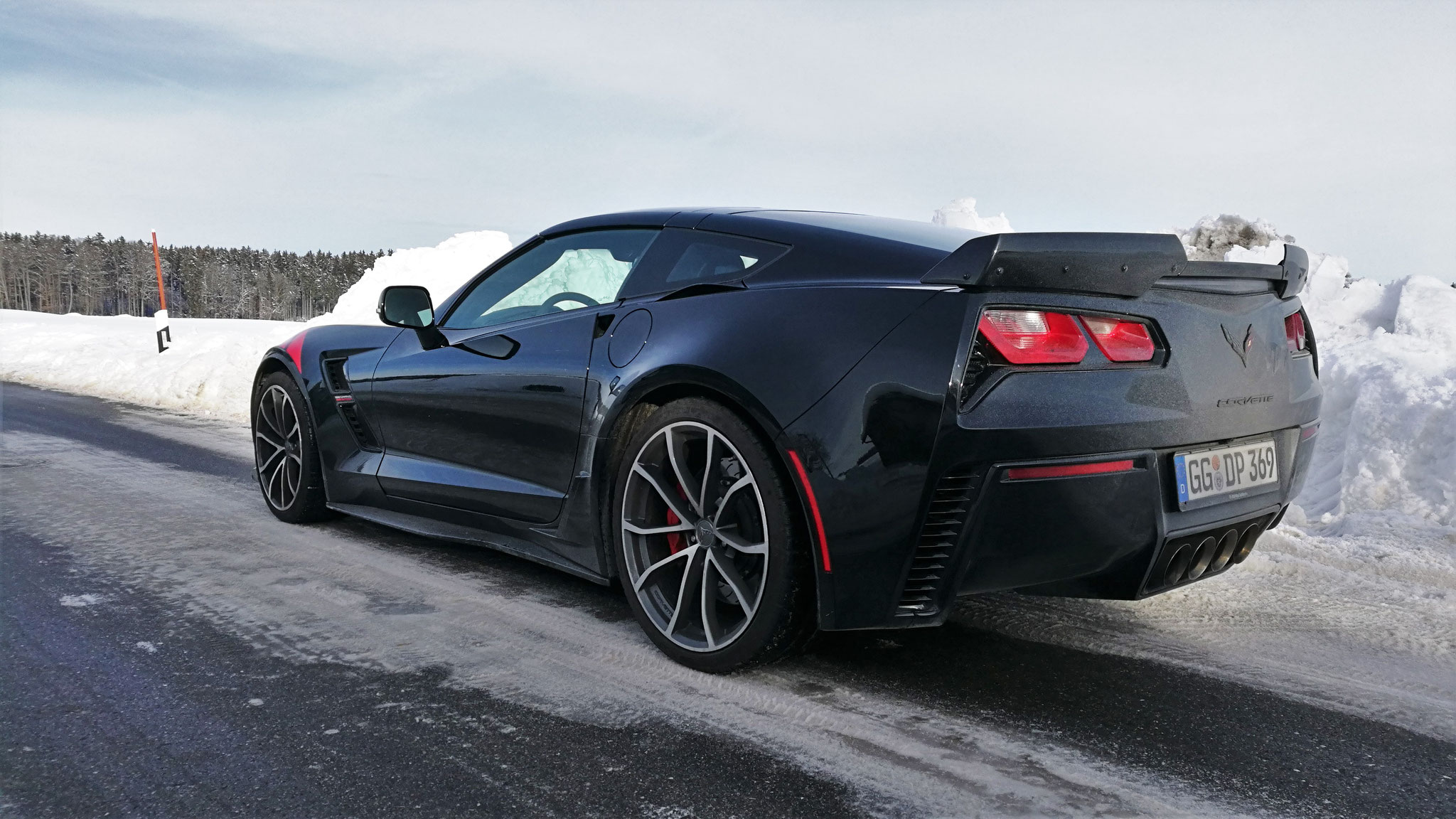 Chevrolet Corvette C7 Grand Sport - GG-DP-369