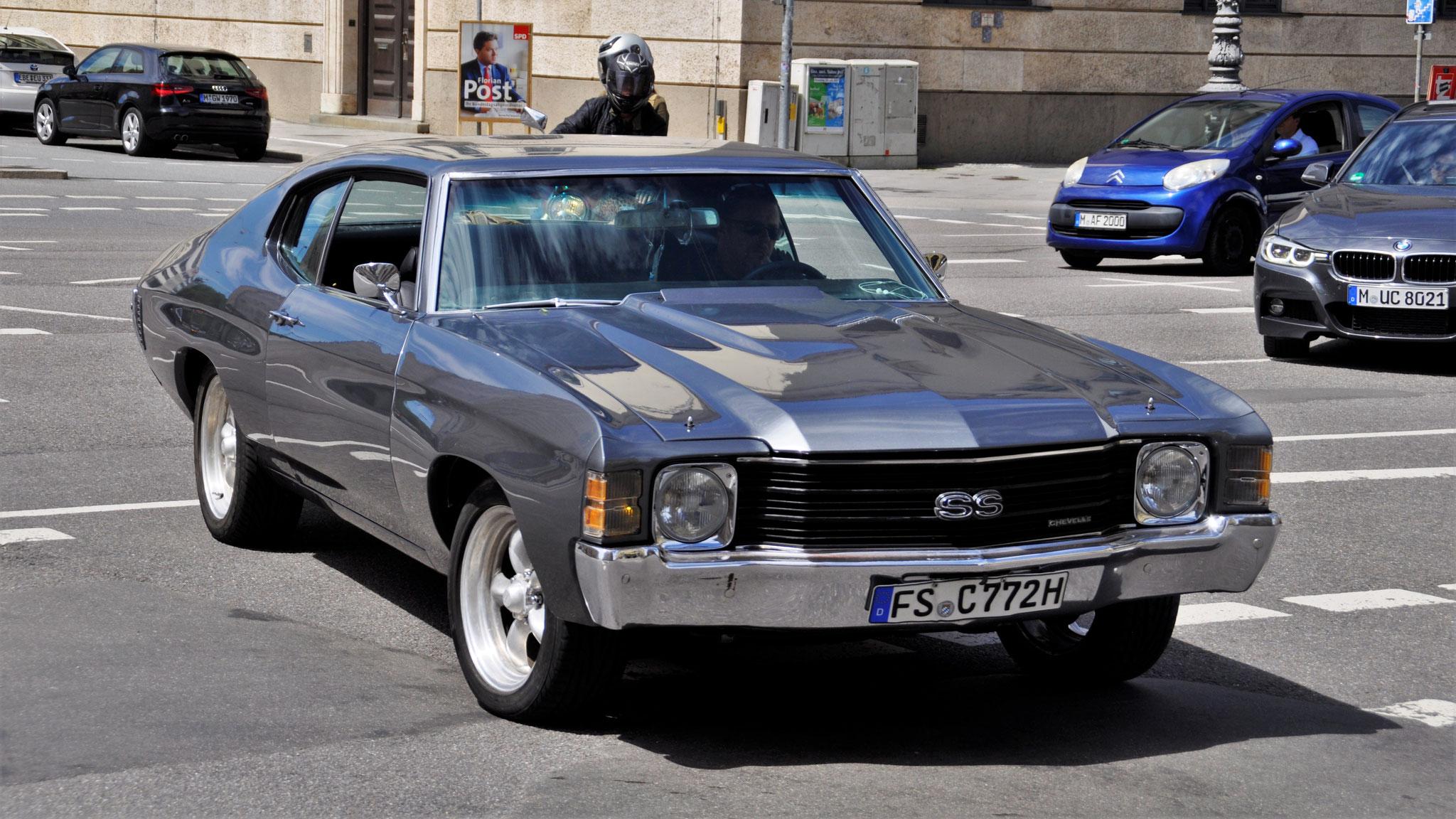 Chevrolet Chevelle SS Coupé - FS-C-722H