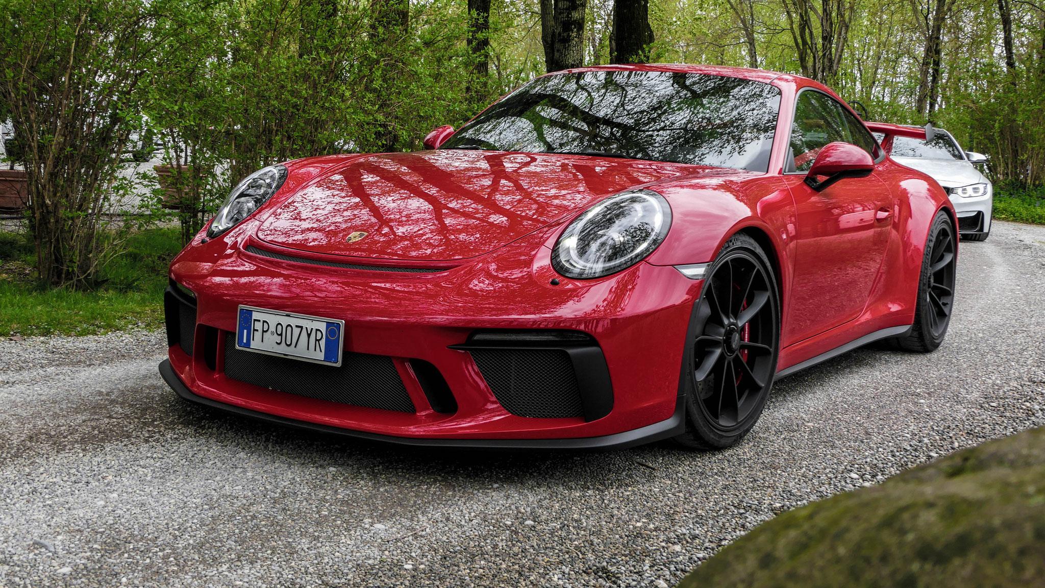 Porsche 991 GT3 - FP-907-YR (ITA)