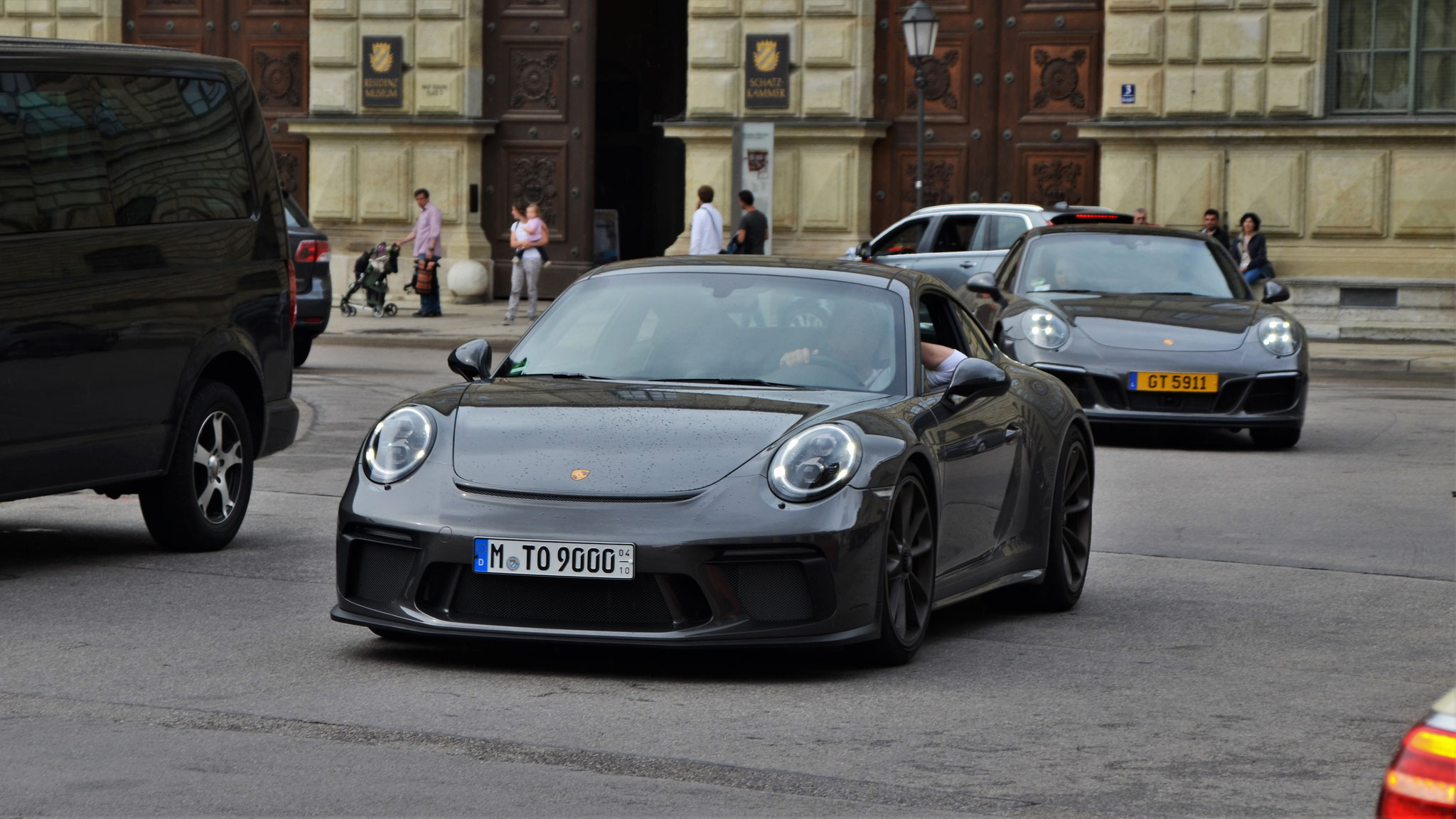 Porsche 991 GT3 Touring Package - M-TO-9000