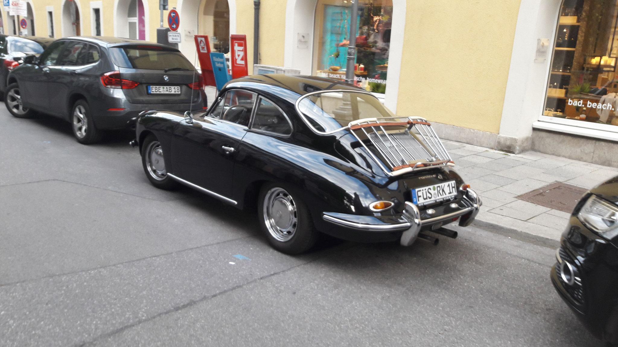 Porsche 356 1600 - FÜS-RK-1H