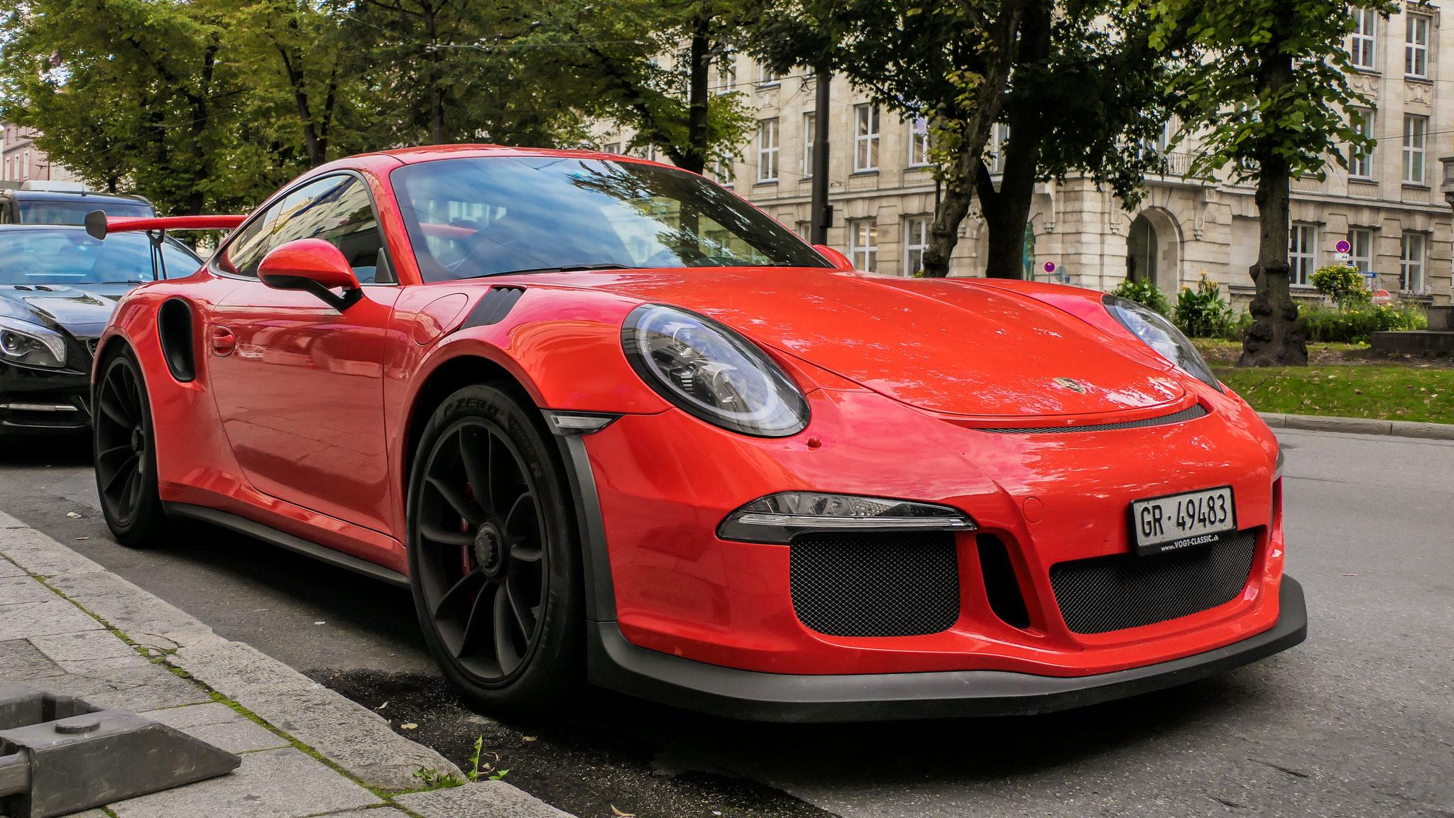 Porsche 911 GT3 RS - GR-49483 (CH)