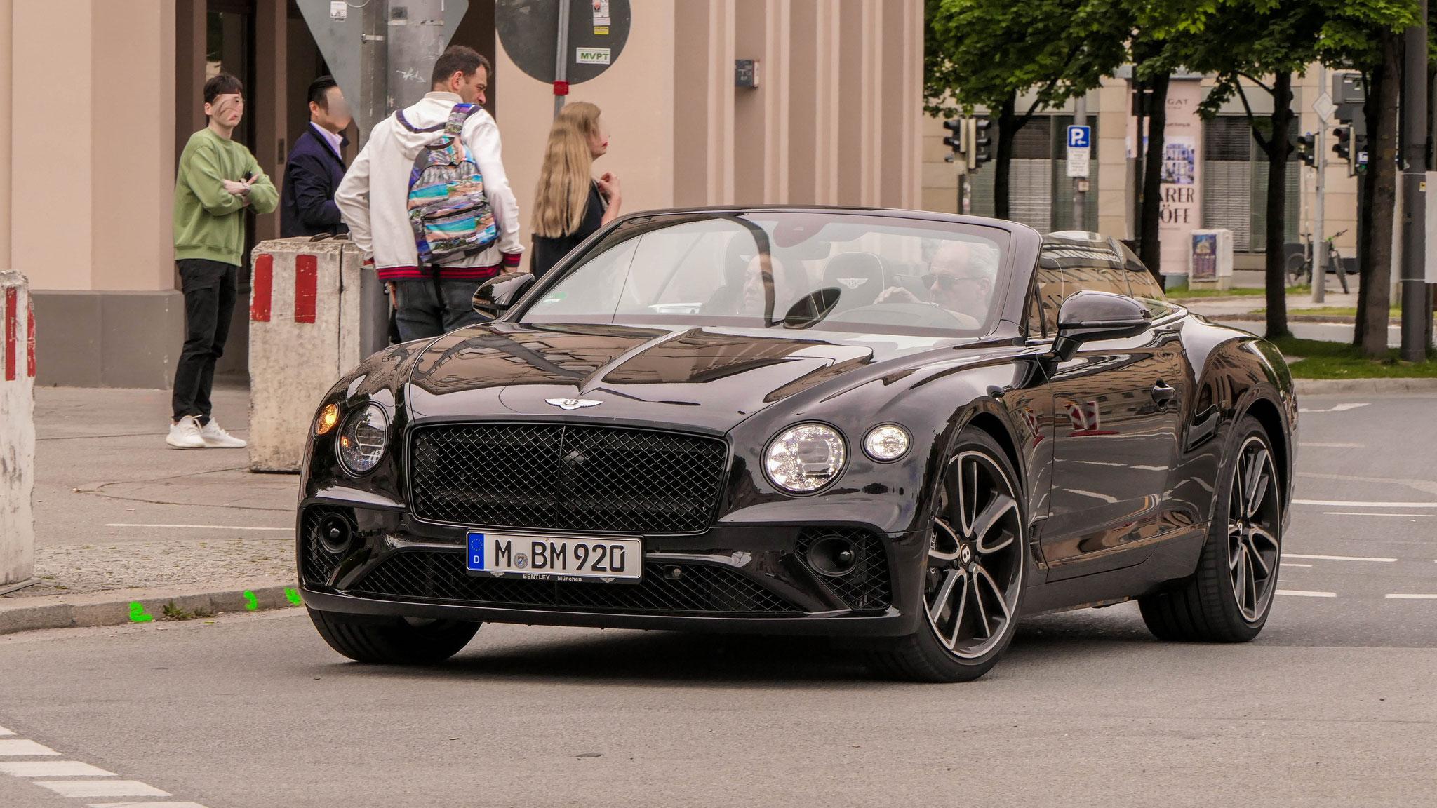 Bentley Continental GTC - M-BM-920