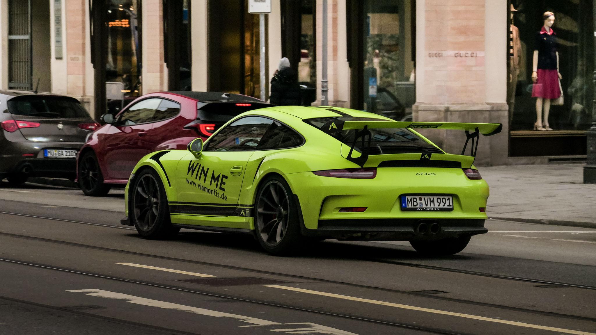 Porsche 911 GT3 RS - MB-VM-991
