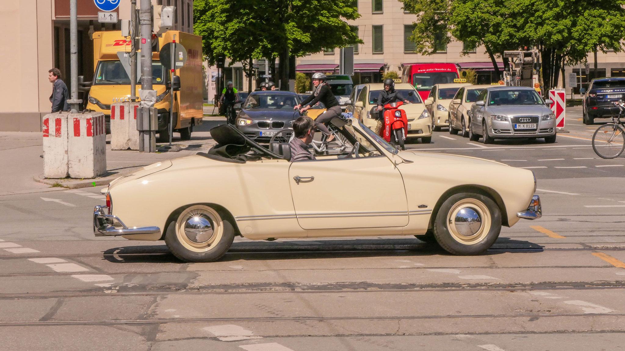 Karmann Ghia Cabrio - M-BO-1965H