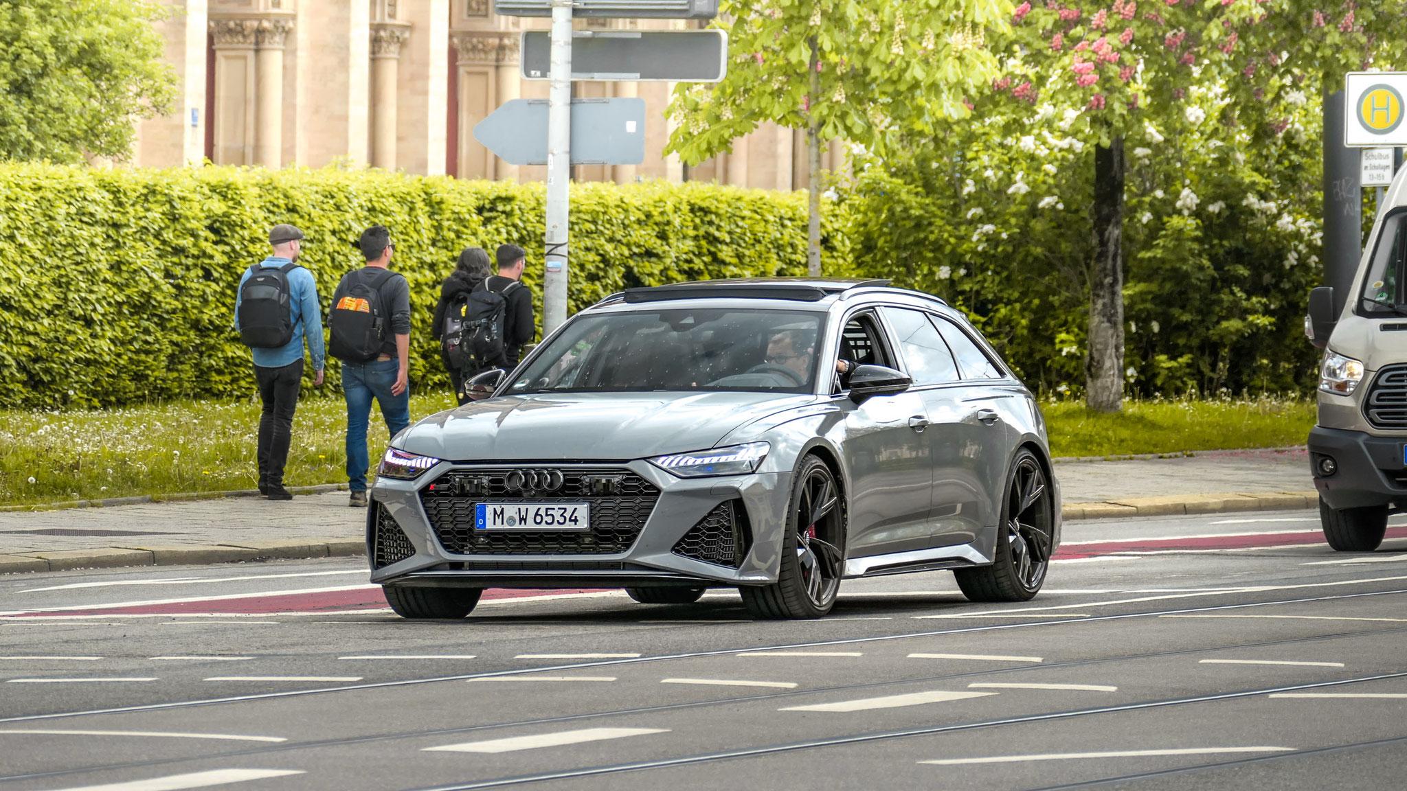 Audi RS6 - M-W-6534
