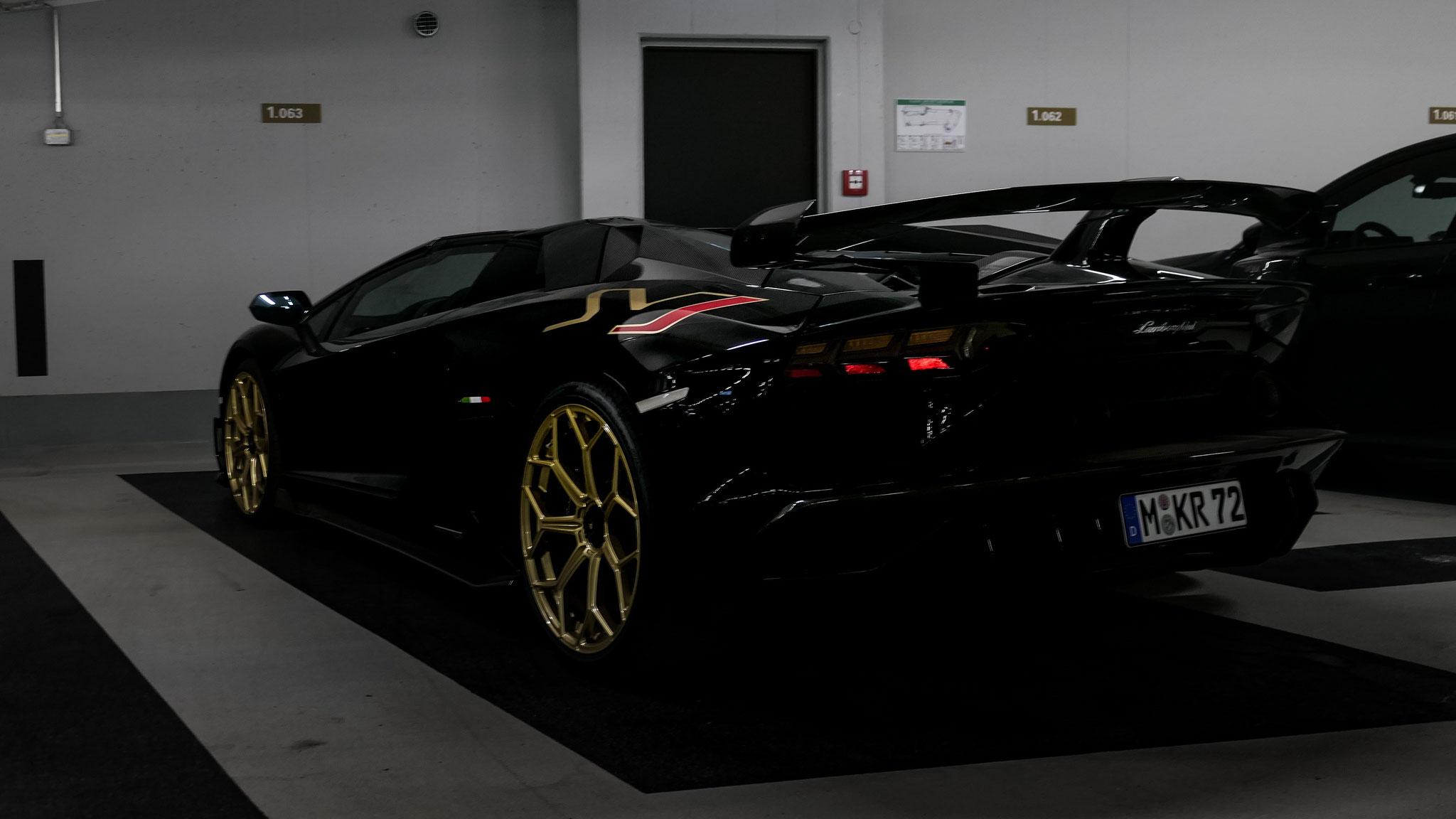 Lamborghini Aventador SVJ Roadster - M-KR-72
