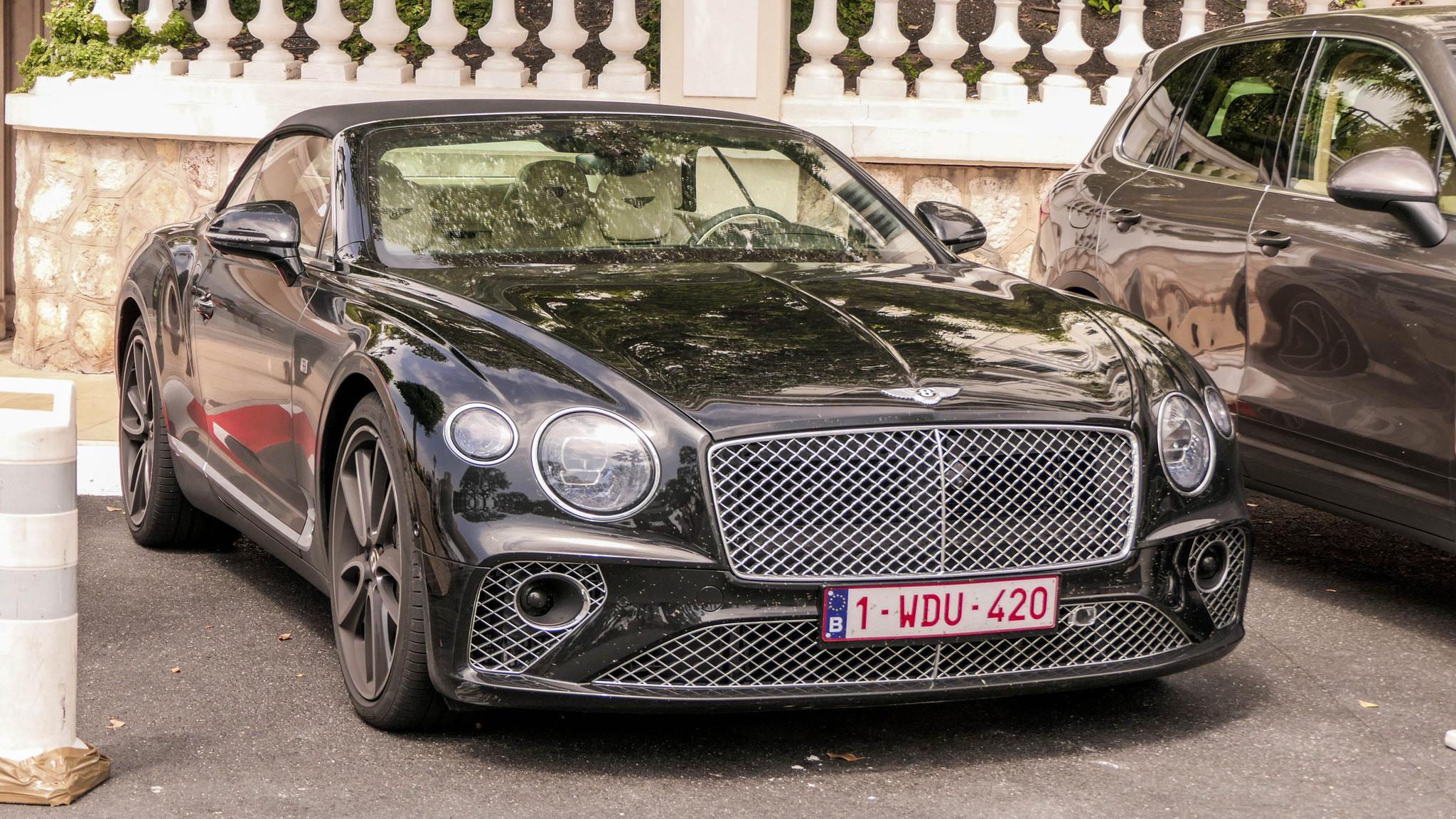 Bentley Continental GTC - 1-WDU-420 (CEL)