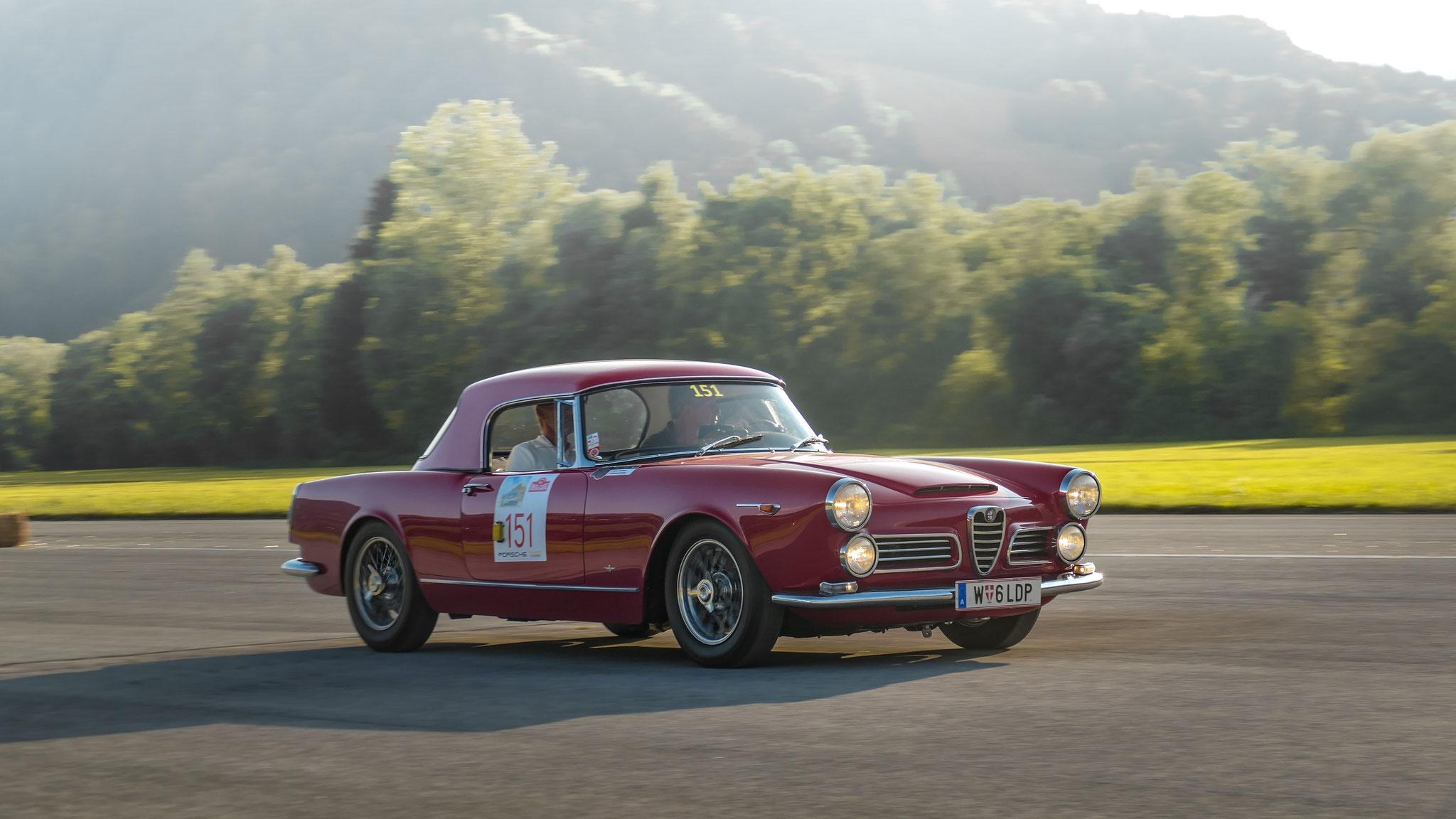 Alfa Romeo 2600 Touring Spider - W-6-LDP (AUT)