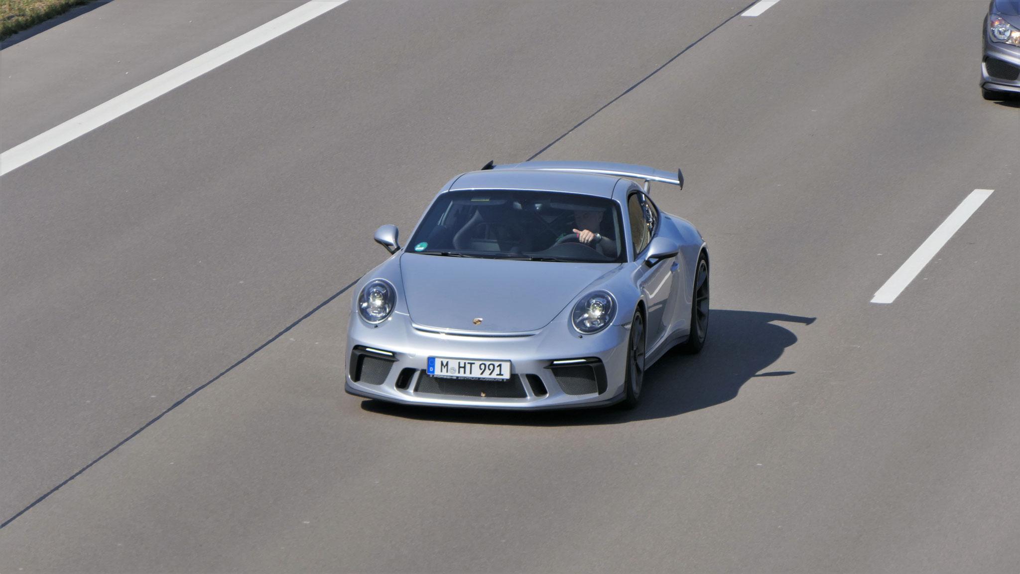 Porsche 991 GT3 - M-HT-991
