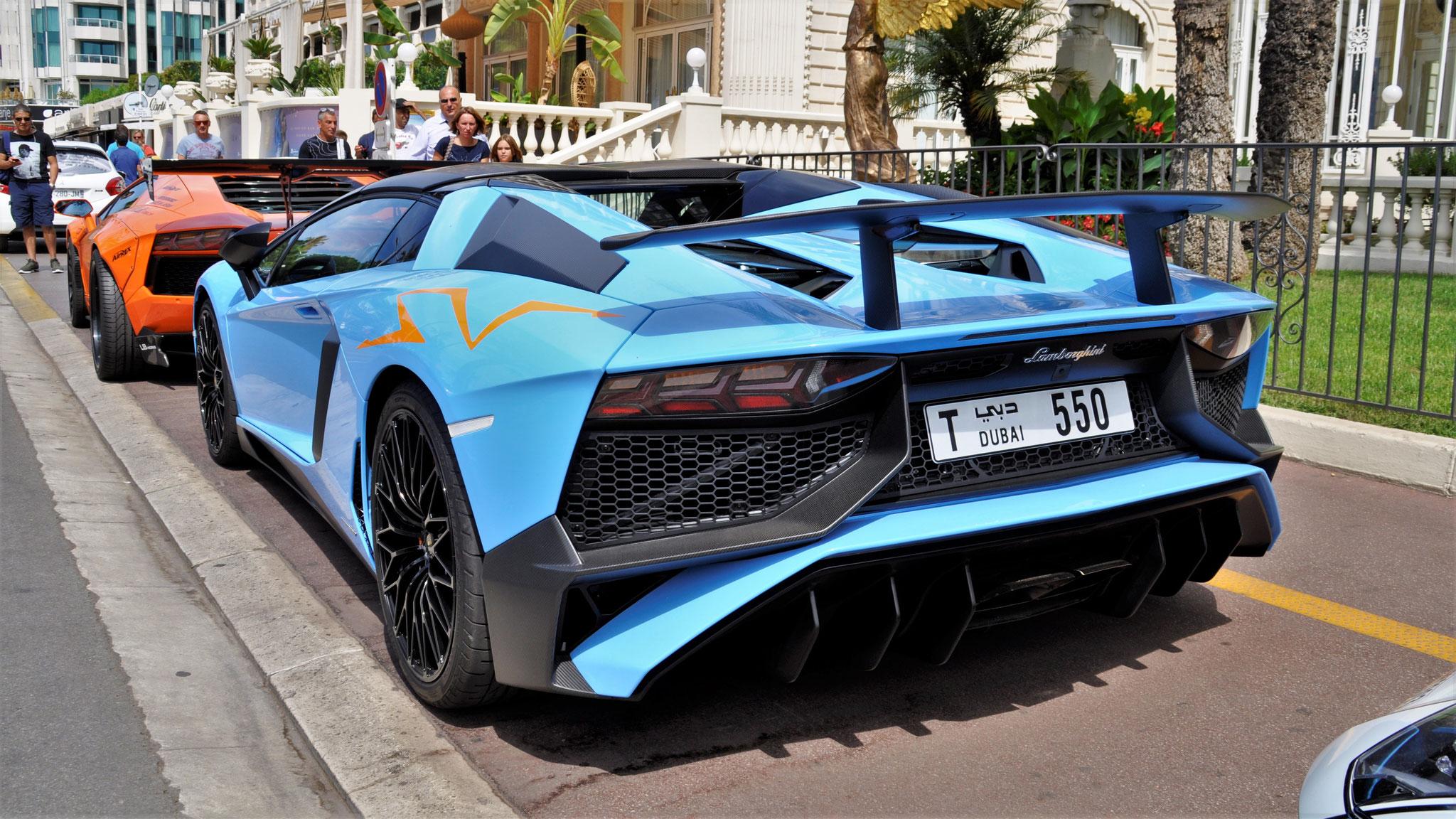 Lamborghini Aventador LP-750-4 SV Roadster - T-550 (Dubai)