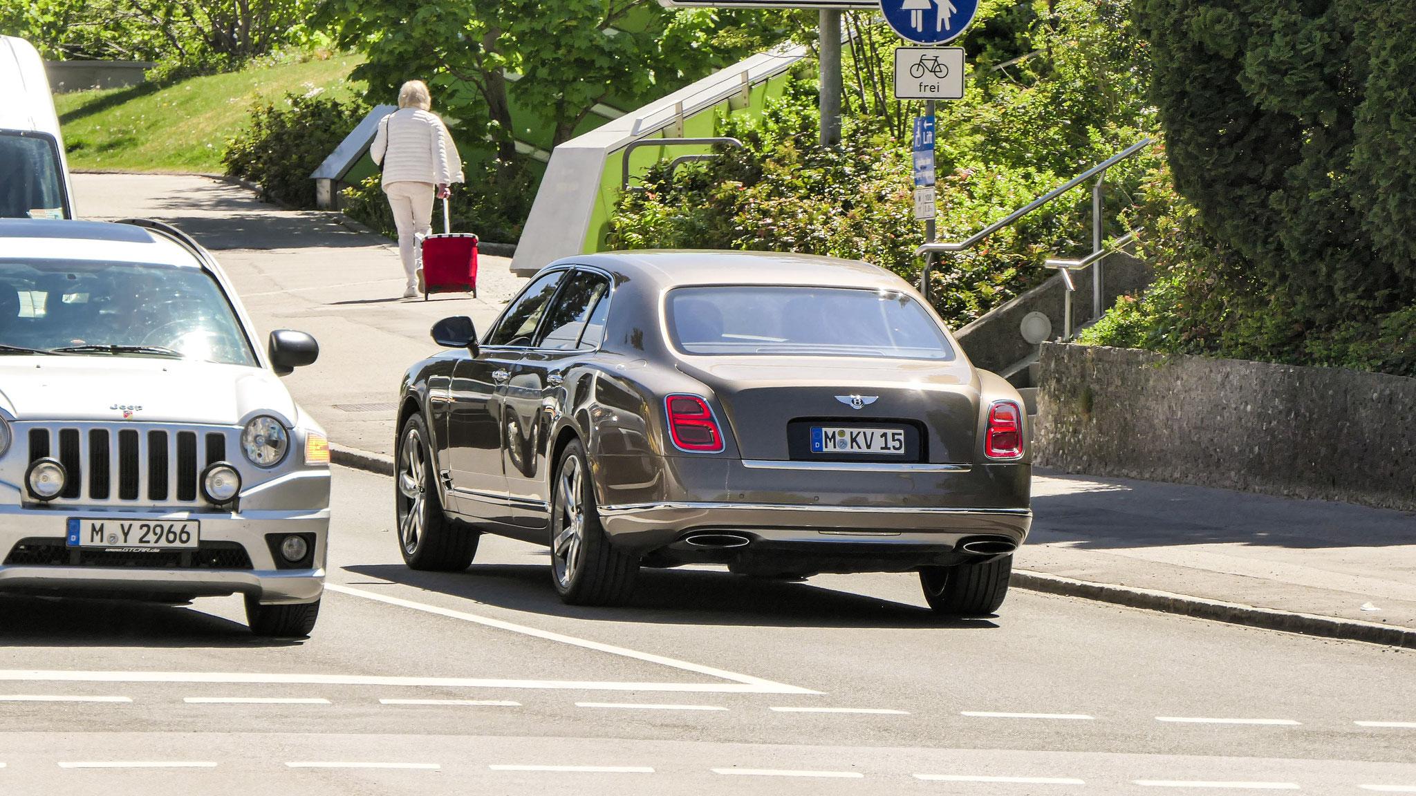 Bentley Mulsanne - M-KV-15