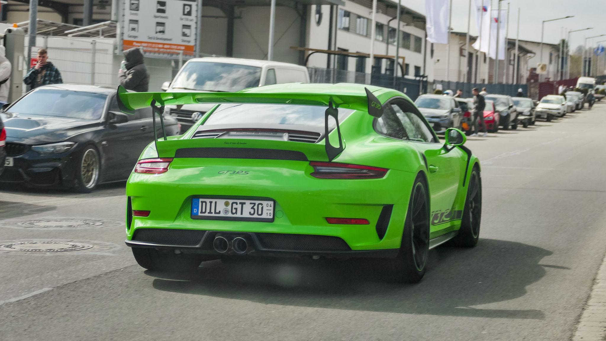 Porsche 911 991.2 GT3 RS - DIL-GT-30