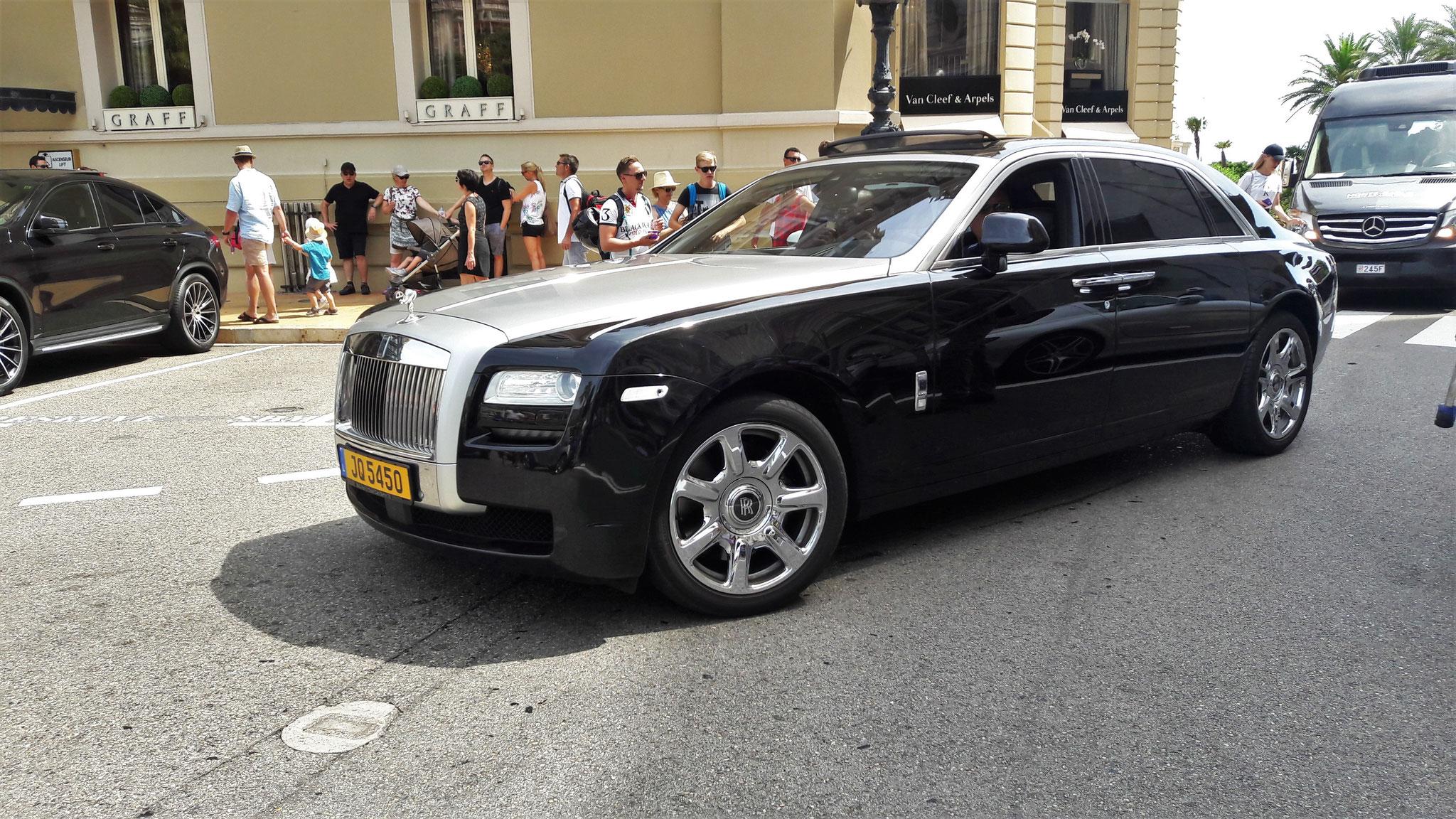 Rolls Royce Ghost - JQ-5450 (LUX)