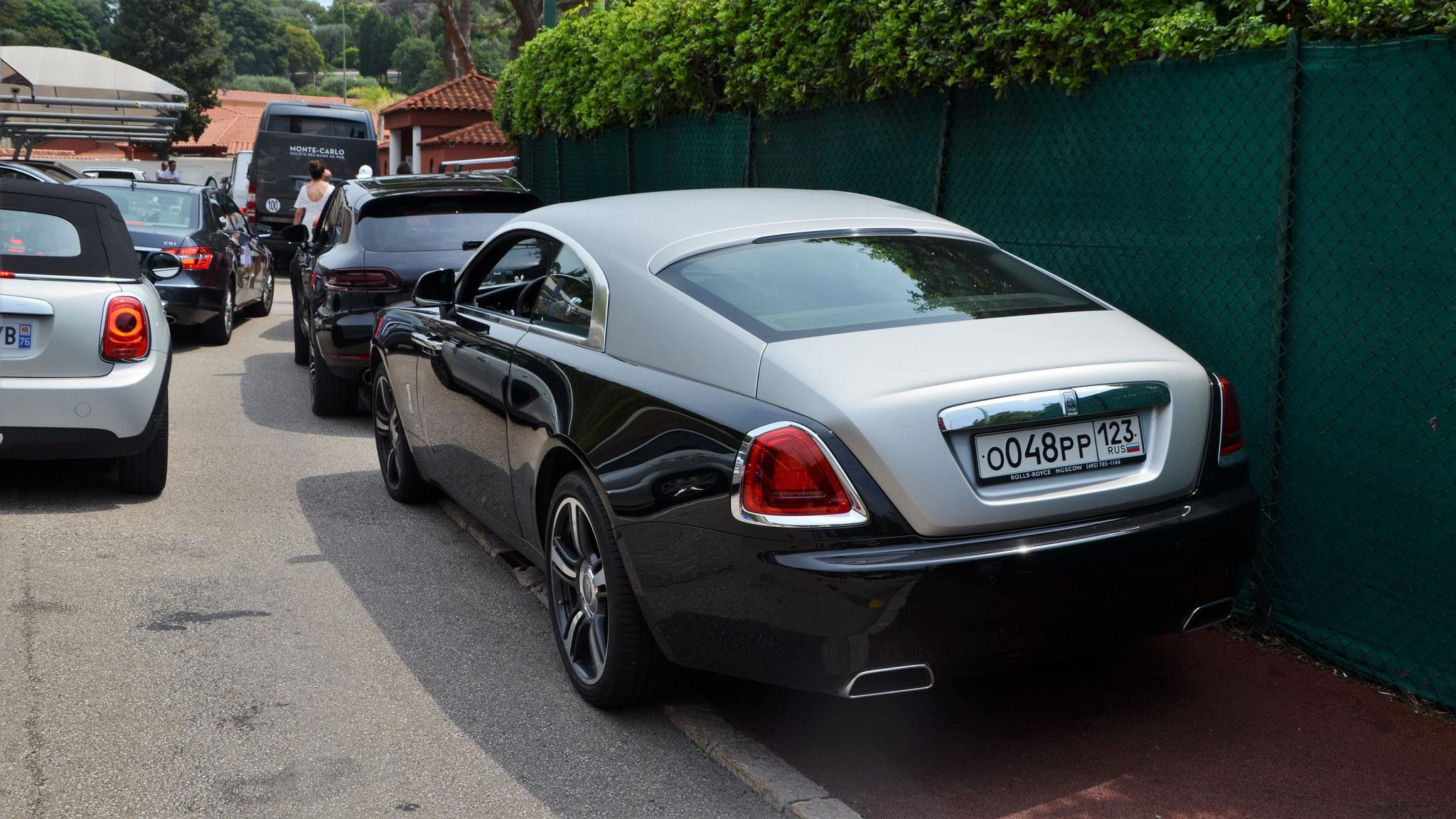 Rolls Royce Wraith - O-048-PP-123 (RUS)