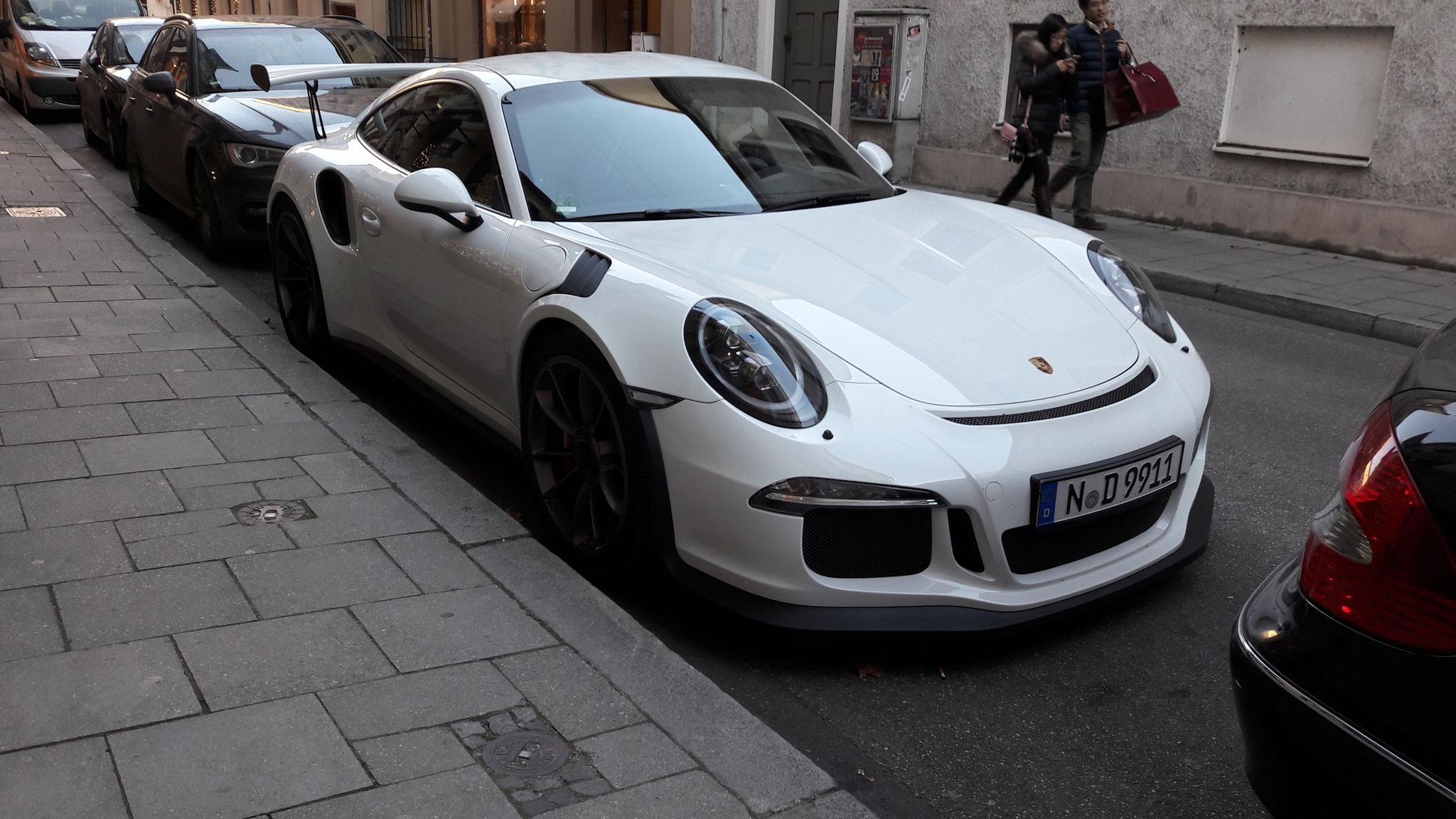 Porsche 911 GT3 RS - N-D-9911
