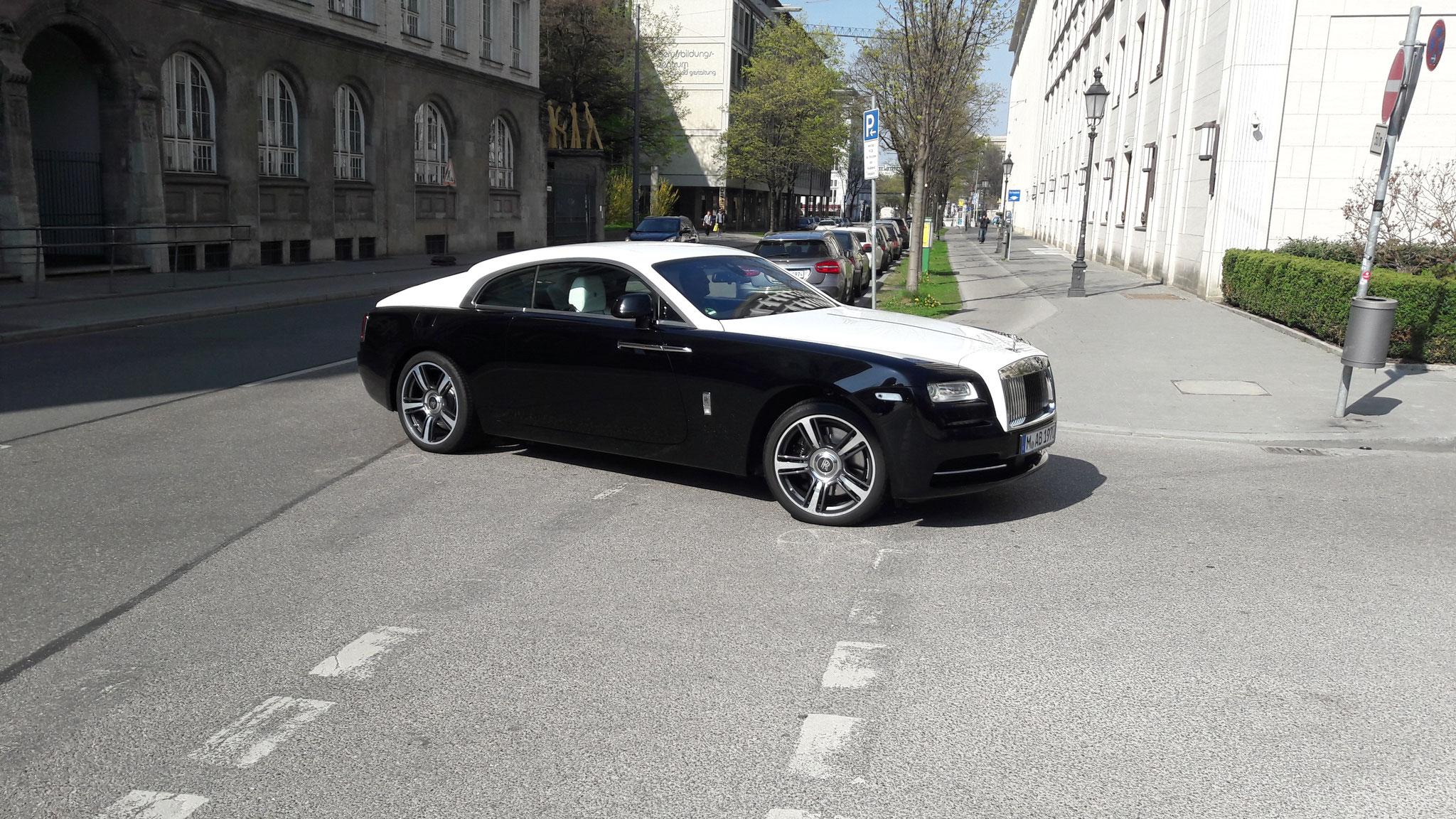 Rolls Royce Wraith - M-AB-1970