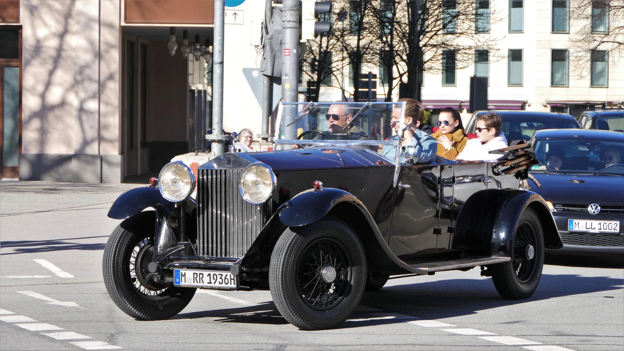 Rolls Royce 25/30 hp 1936 - M-RR-1936H