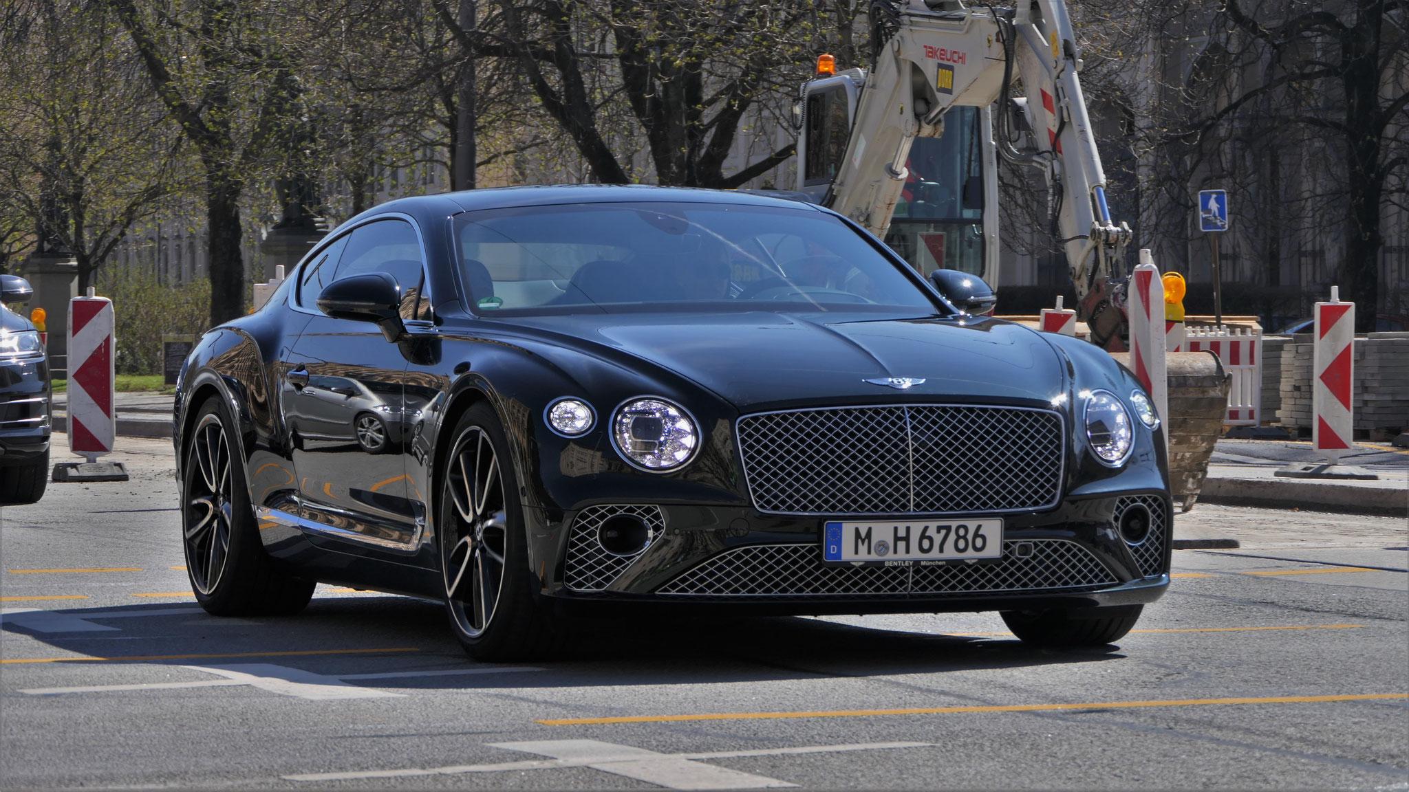 Bentley Continental GT - M-H-6786
