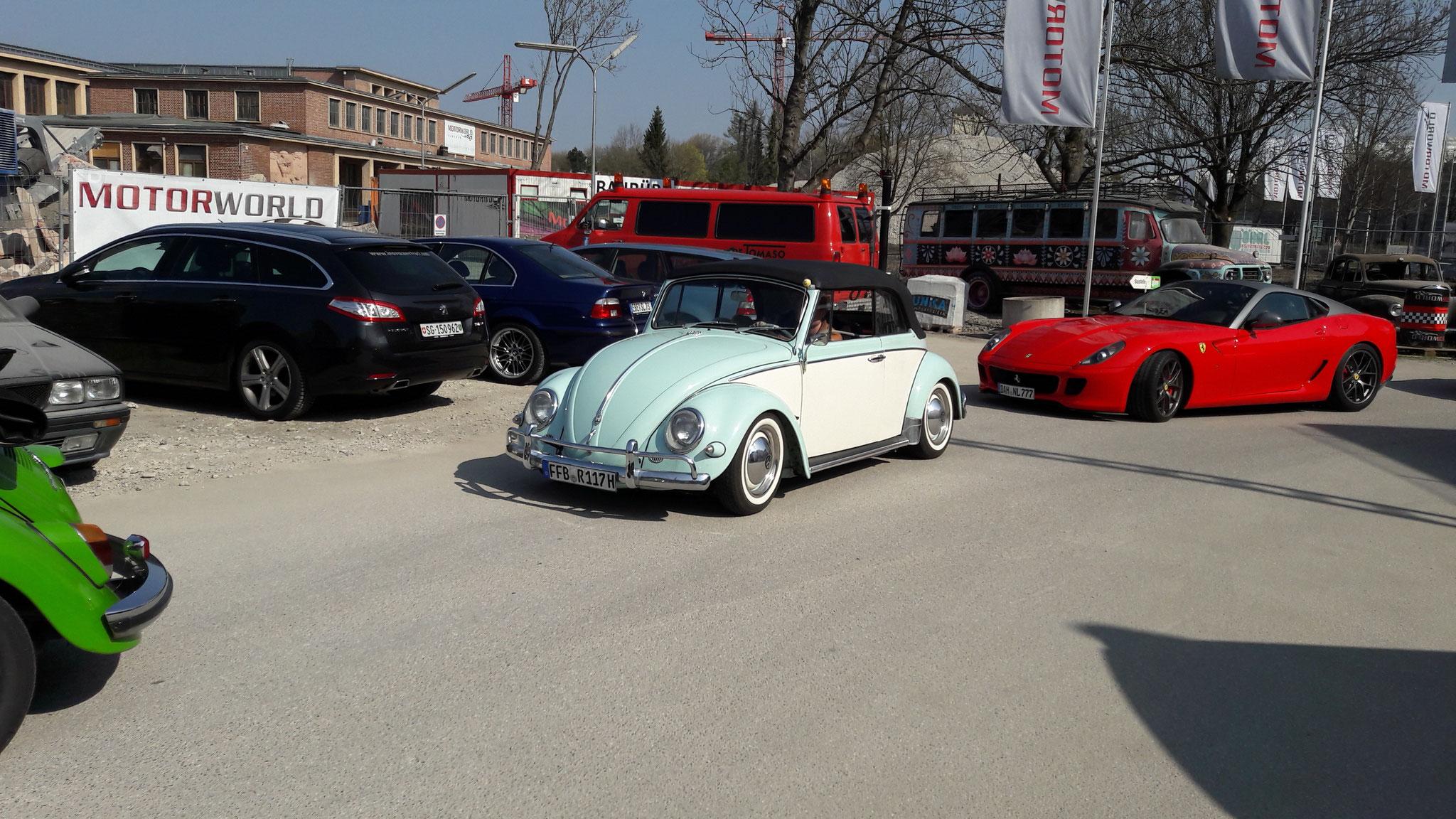 VW Käfer Cabrio - FFB-R-117H
