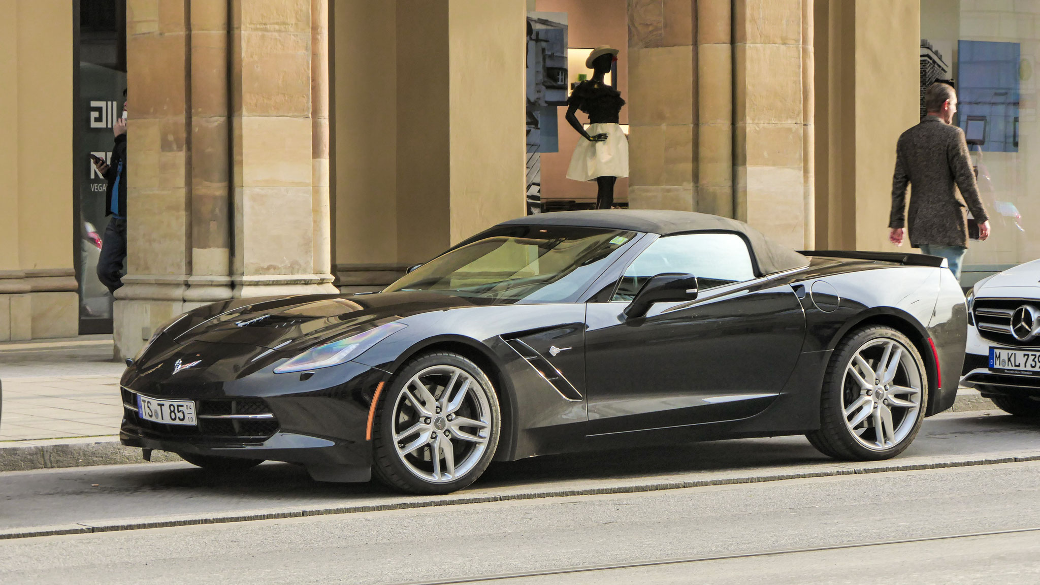 Chevrolet Corvette C7 Stingray Convertible - TS-T-85