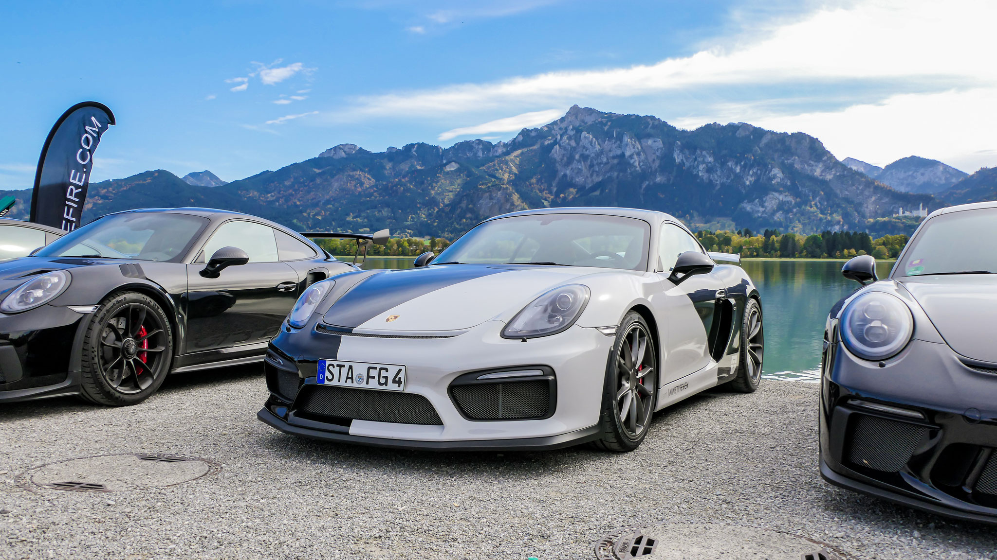 Porsche Cayman GT4 - STA-FG-4
