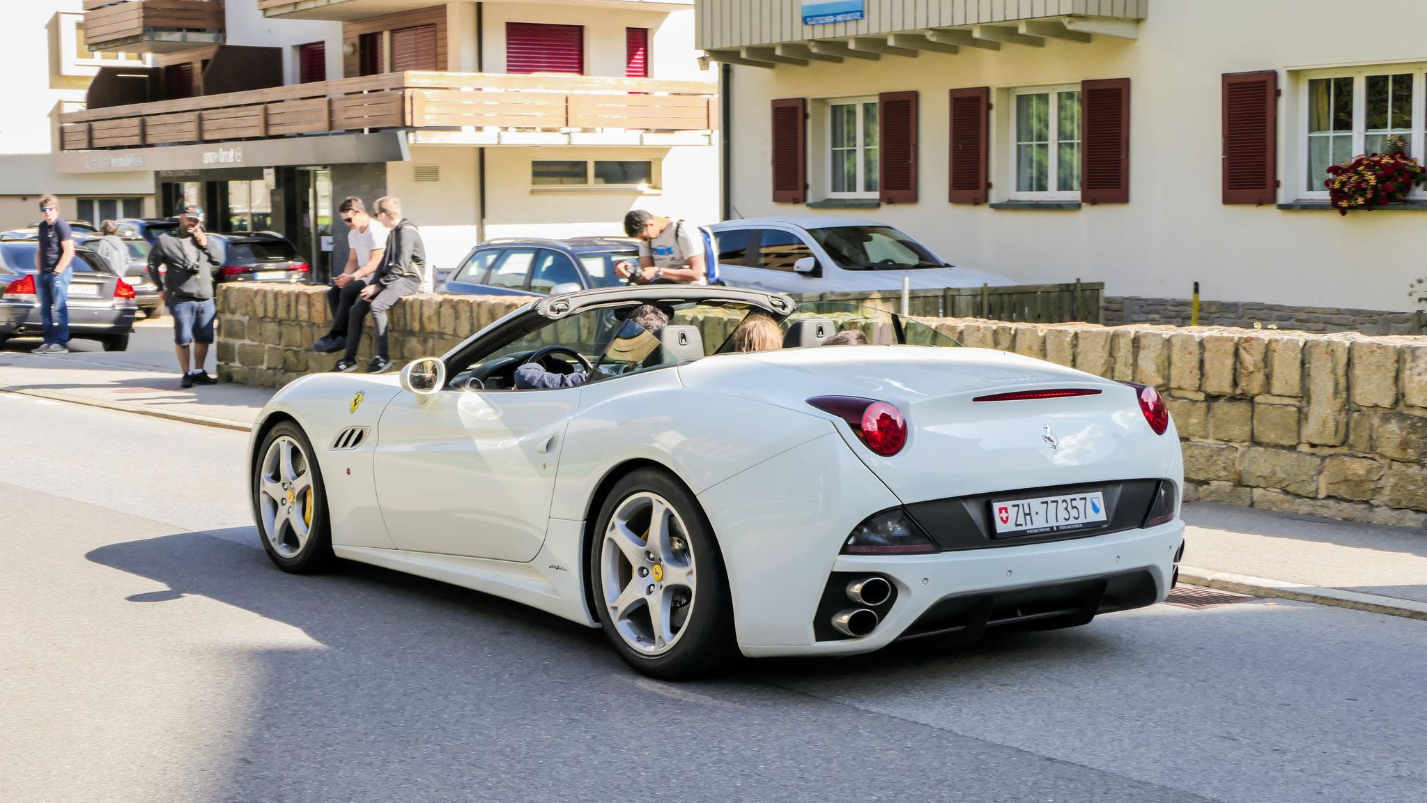 Ferrari California - ZH-77357 (CH)