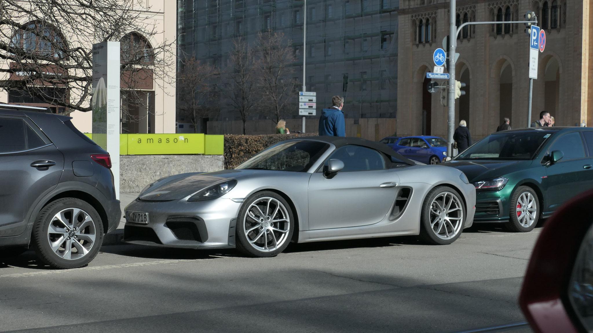 Porsche 718 Spyder - M-ZY-718