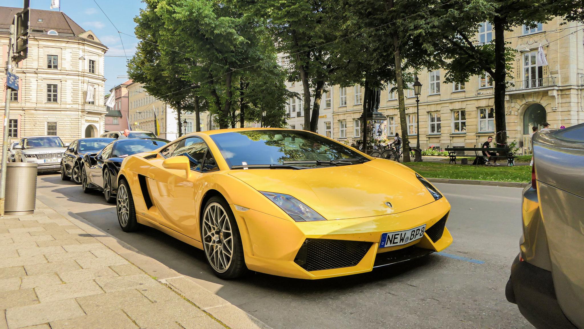 Lamborghini Gallardo Spyder - NEW-BP-8