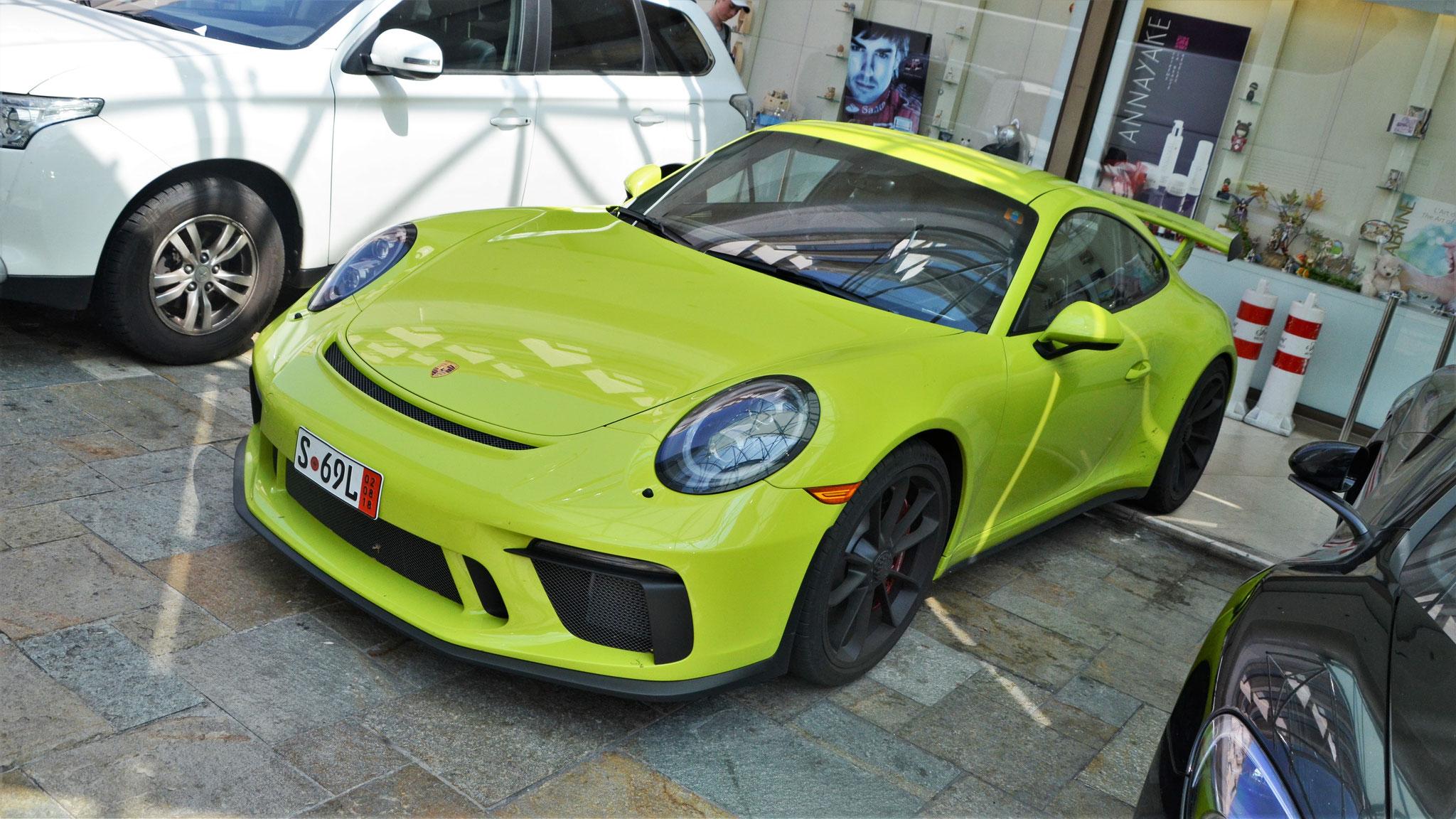 Porsche 991 GT3 - S-69-L