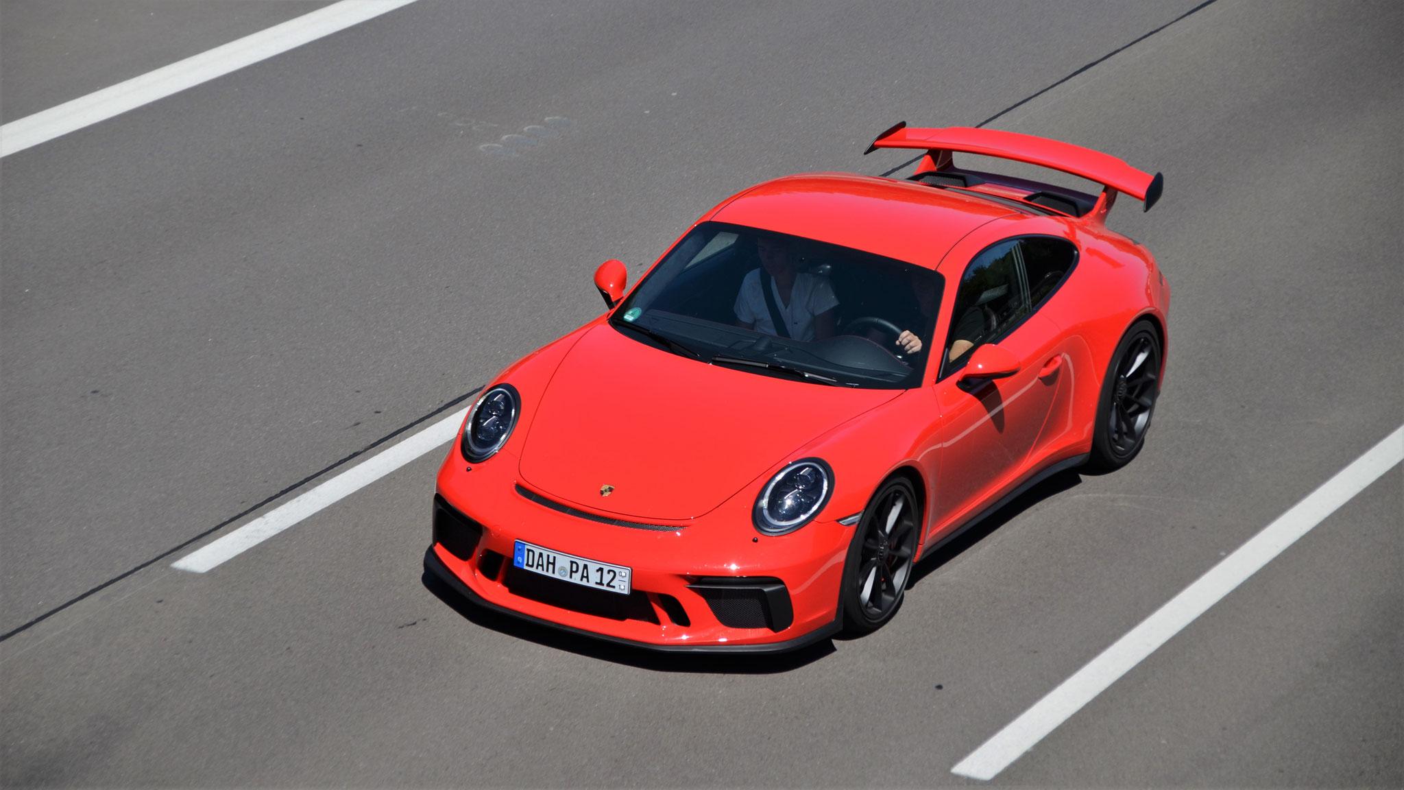 Porsche 991 GT3 - DAH-PA-12