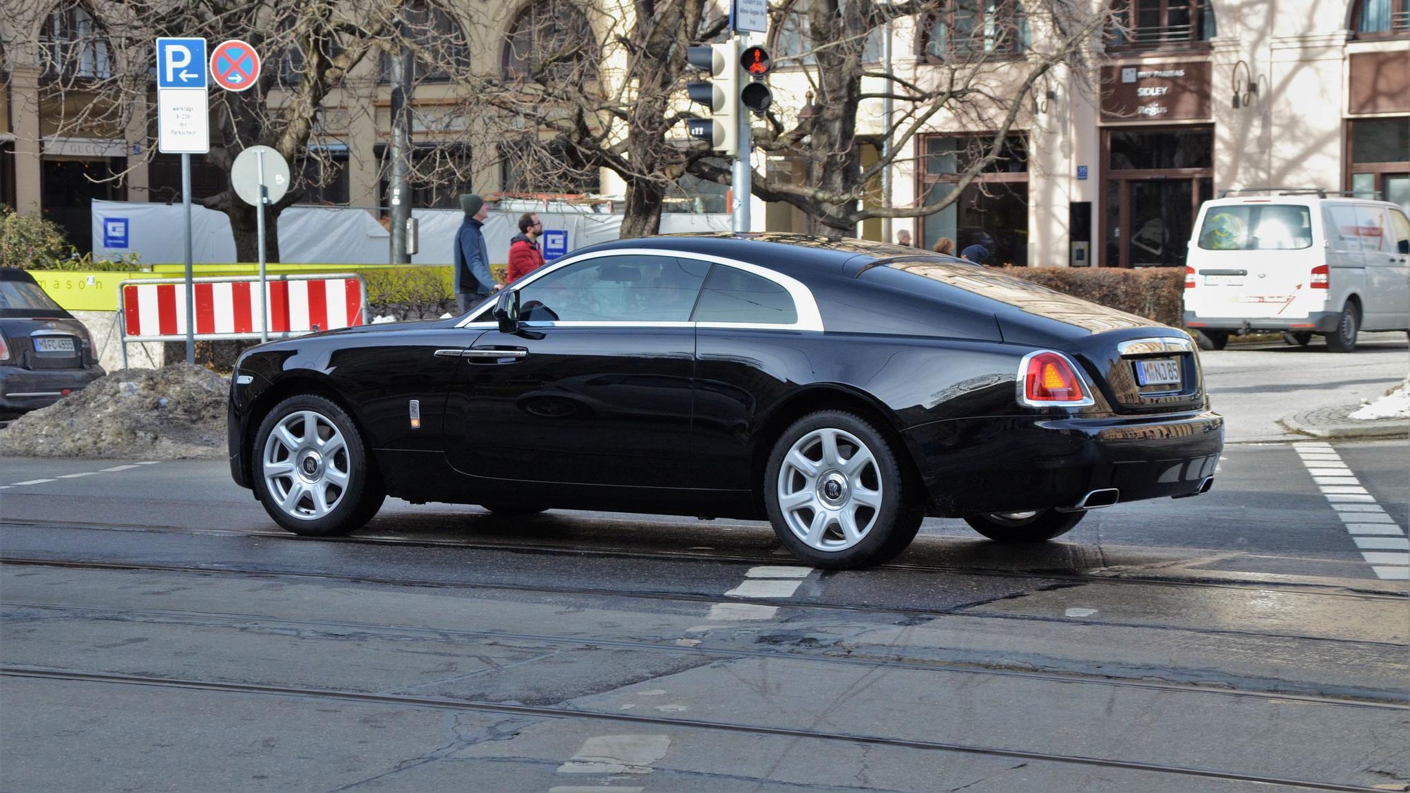 Rolls Royce Wraith - M-NJ-85