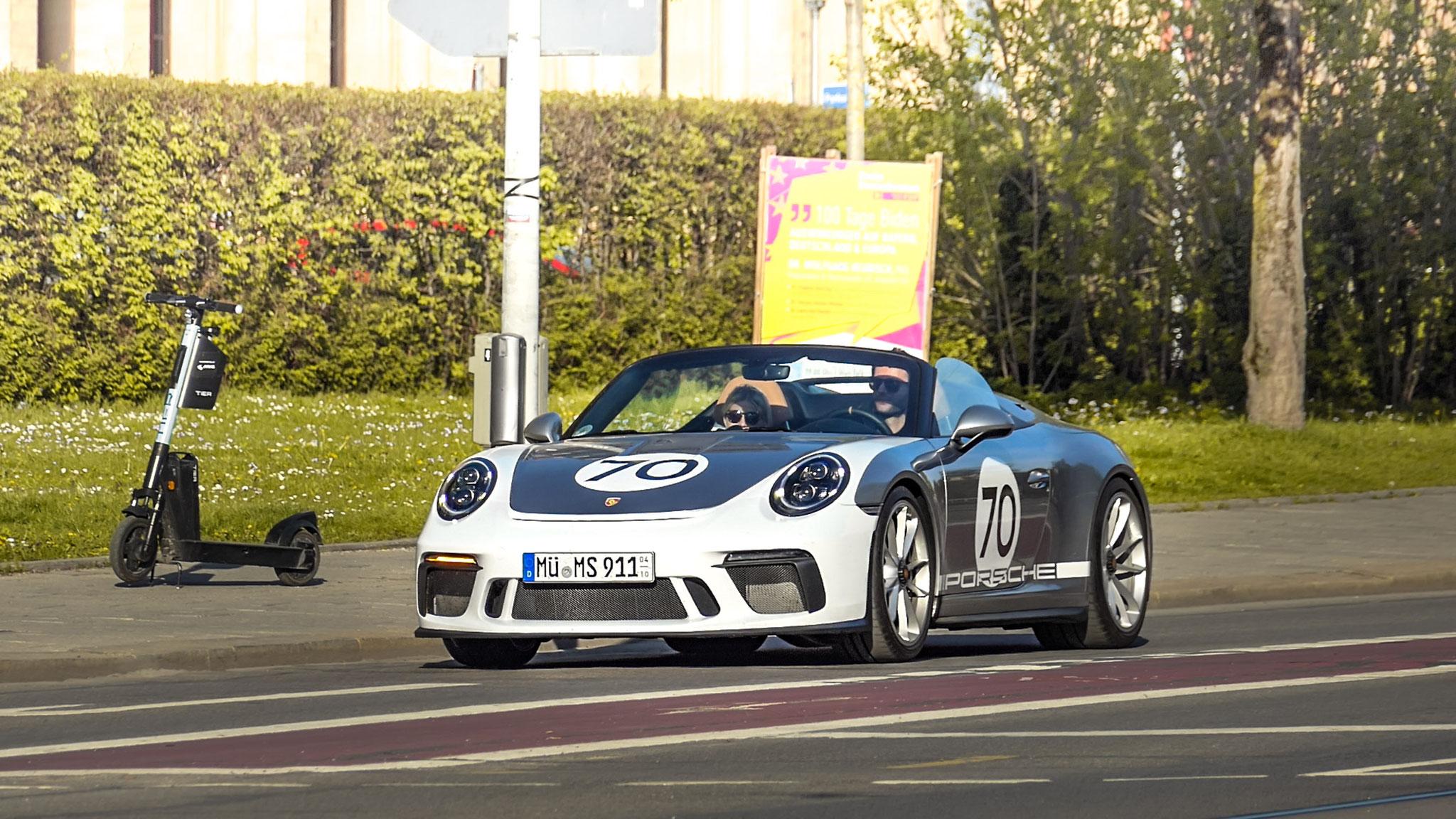 Porsche 991 Speedster - MÜ-MS-911